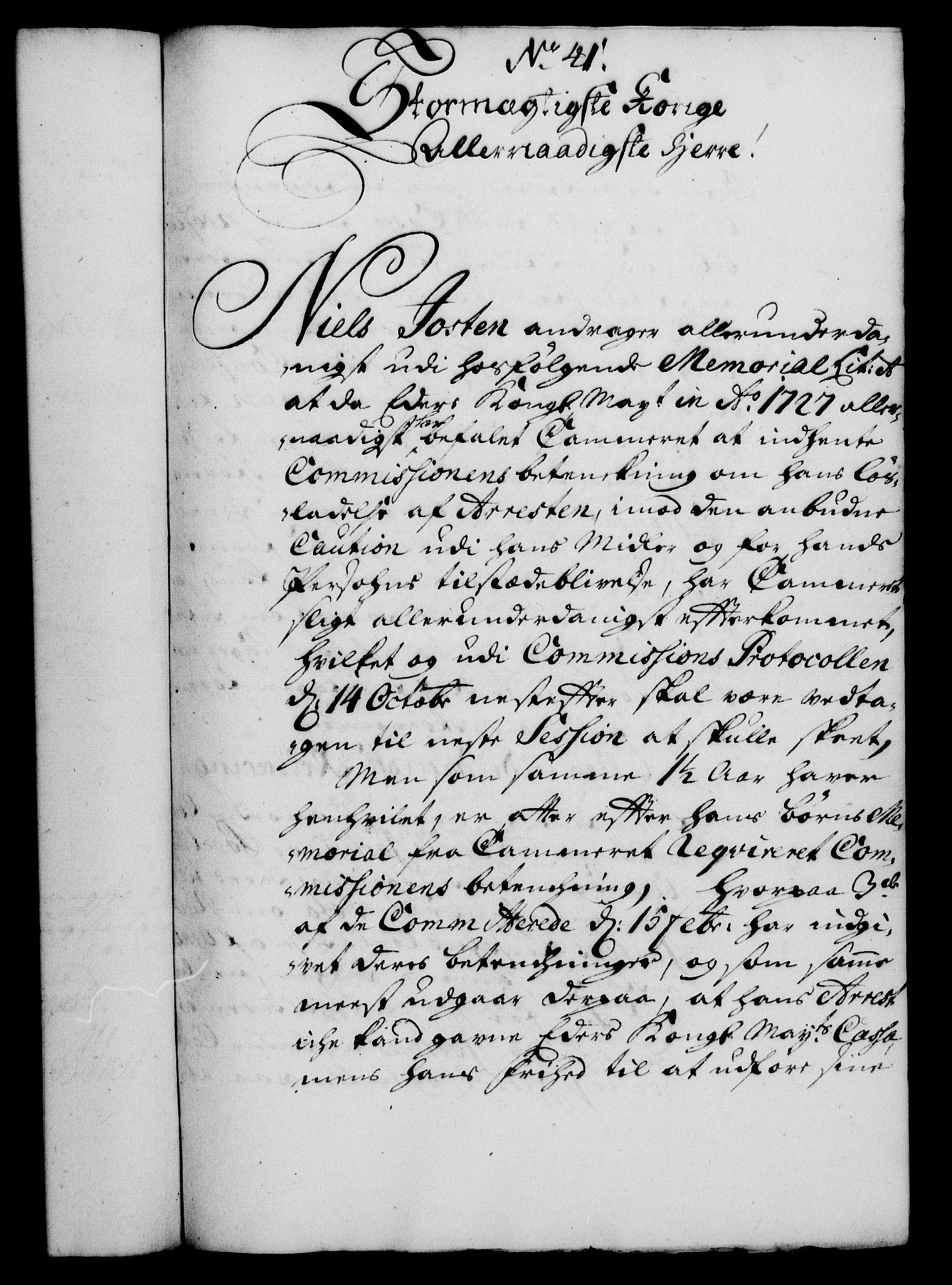 RA, Rentekammeret, Kammerkanselliet, G/Gf/Gfa/L0012: Norsk relasjons- og resolusjonsprotokoll (merket RK 52.12), 1729, s. 234
