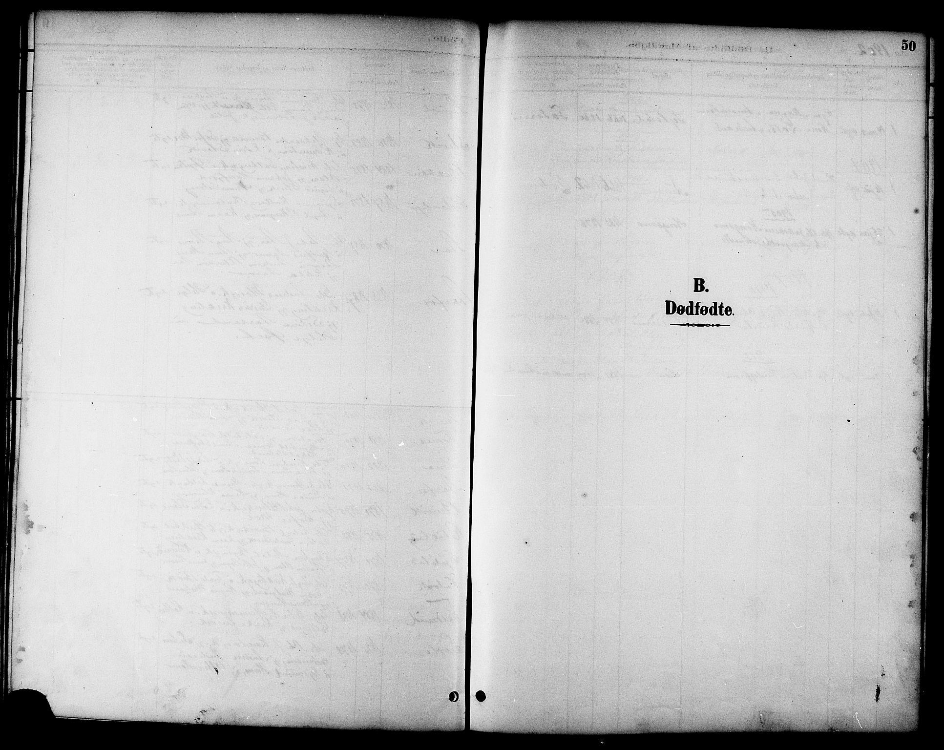 SAT, Ministerialprotokoller, klokkerbøker og fødselsregistre - Nord-Trøndelag, 783/L0662: Klokkerbok nr. 783C02, 1894-1919, s. 50