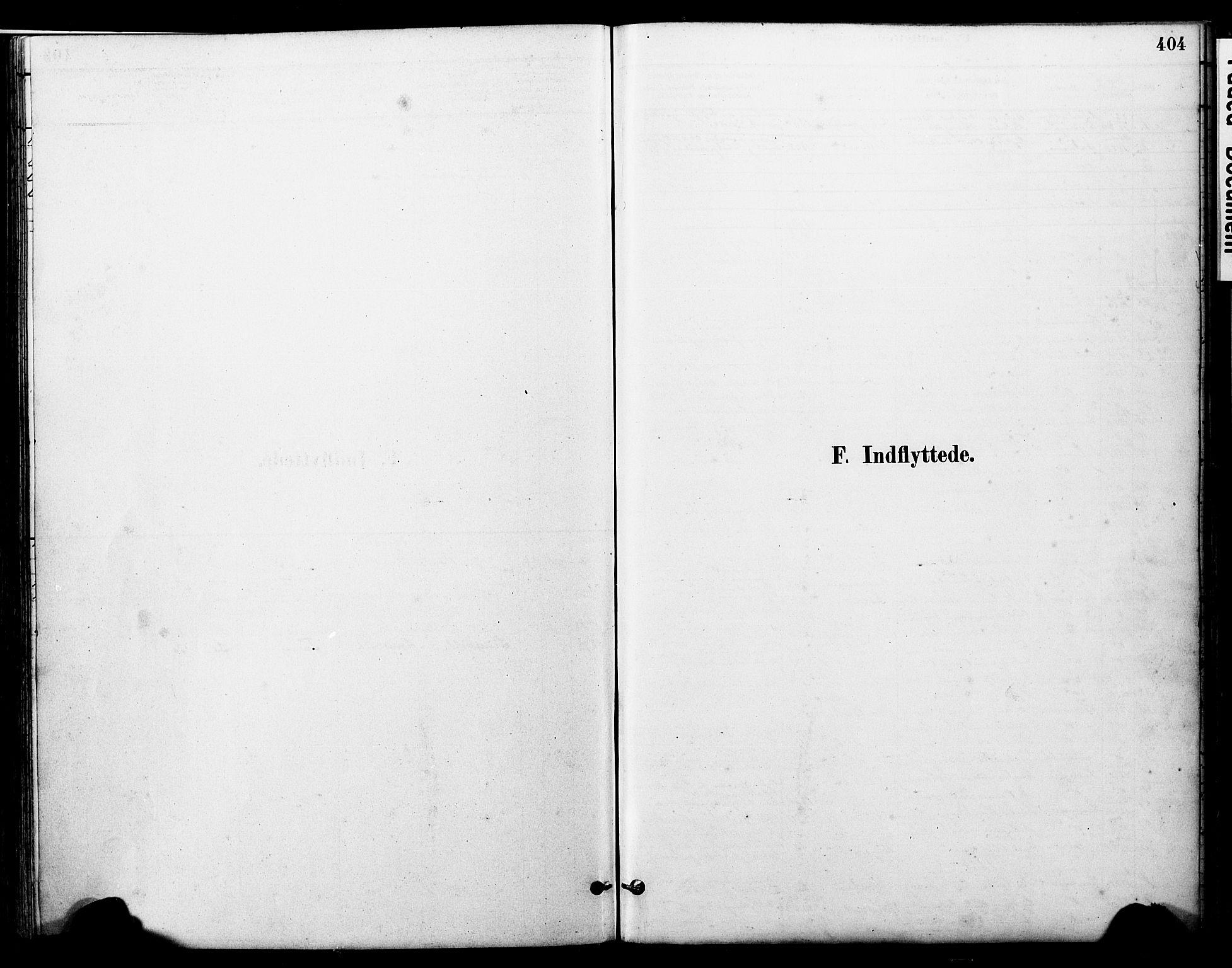 SAT, Ministerialprotokoller, klokkerbøker og fødselsregistre - Nord-Trøndelag, 723/L0244: Ministerialbok nr. 723A13, 1881-1899, s. 404