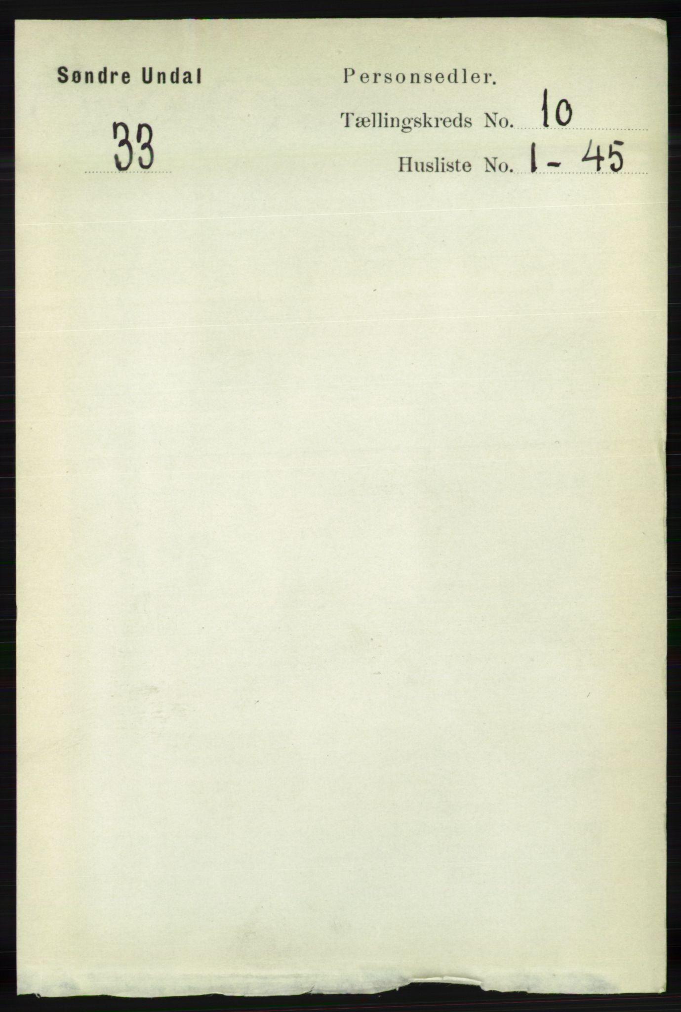RA, Folketelling 1891 for 1029 Sør-Audnedal herred, 1891, s. 4431