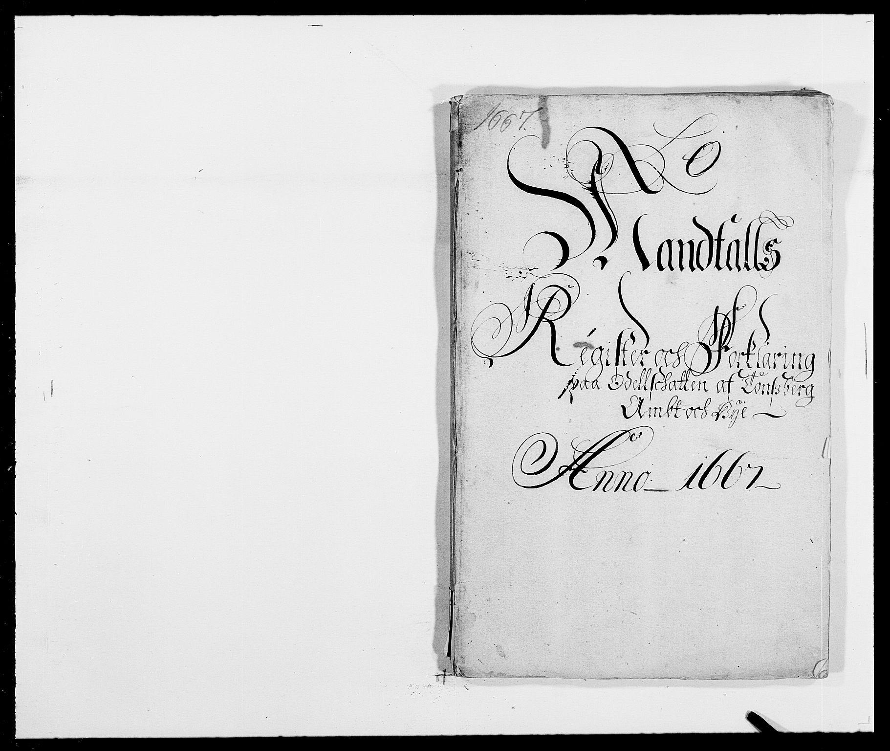RA, Rentekammeret inntil 1814, Reviderte regnskaper, Fogderegnskap, R32/L1840: Fogderegnskap Jarlsberg grevskap, 1664-1673, s. 64