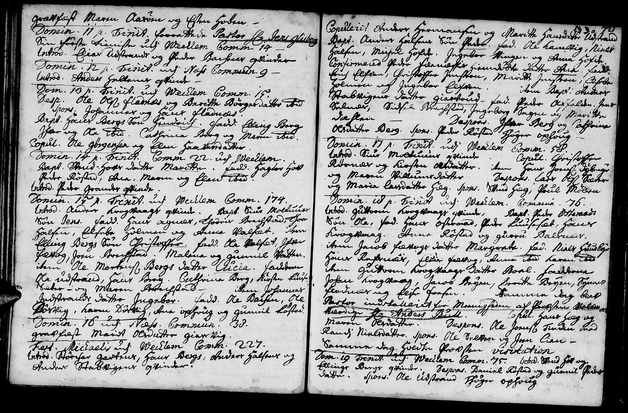 SAT, Ministerialprotokoller, klokkerbøker og fødselsregistre - Sør-Trøndelag, 659/L0731: Ministerialbok nr. 659A01, 1709-1731, s. 192-193