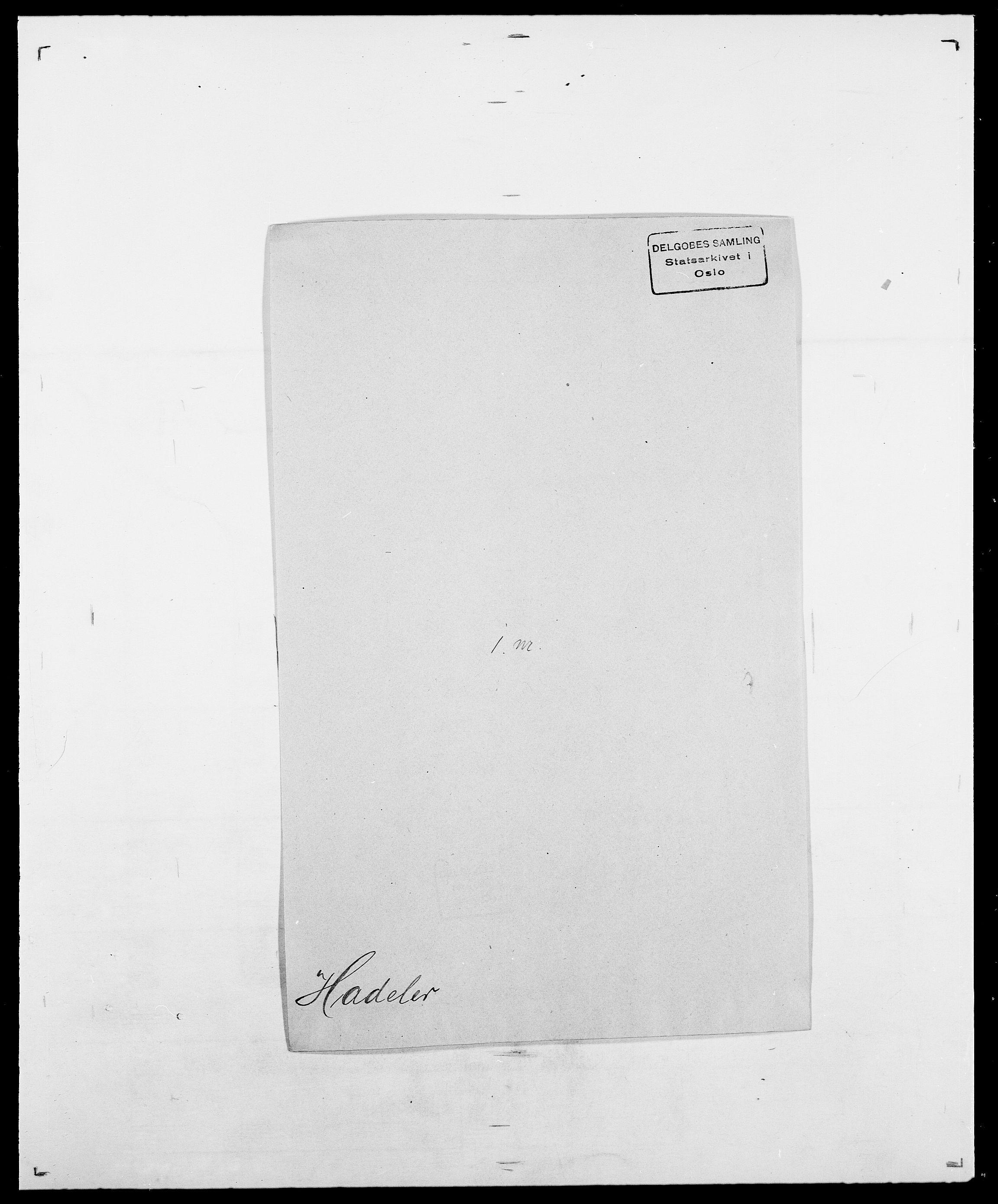 SAO, Delgobe, Charles Antoine - samling, D/Da/L0015: Grodtshilling - Halvorsæth, s. 632