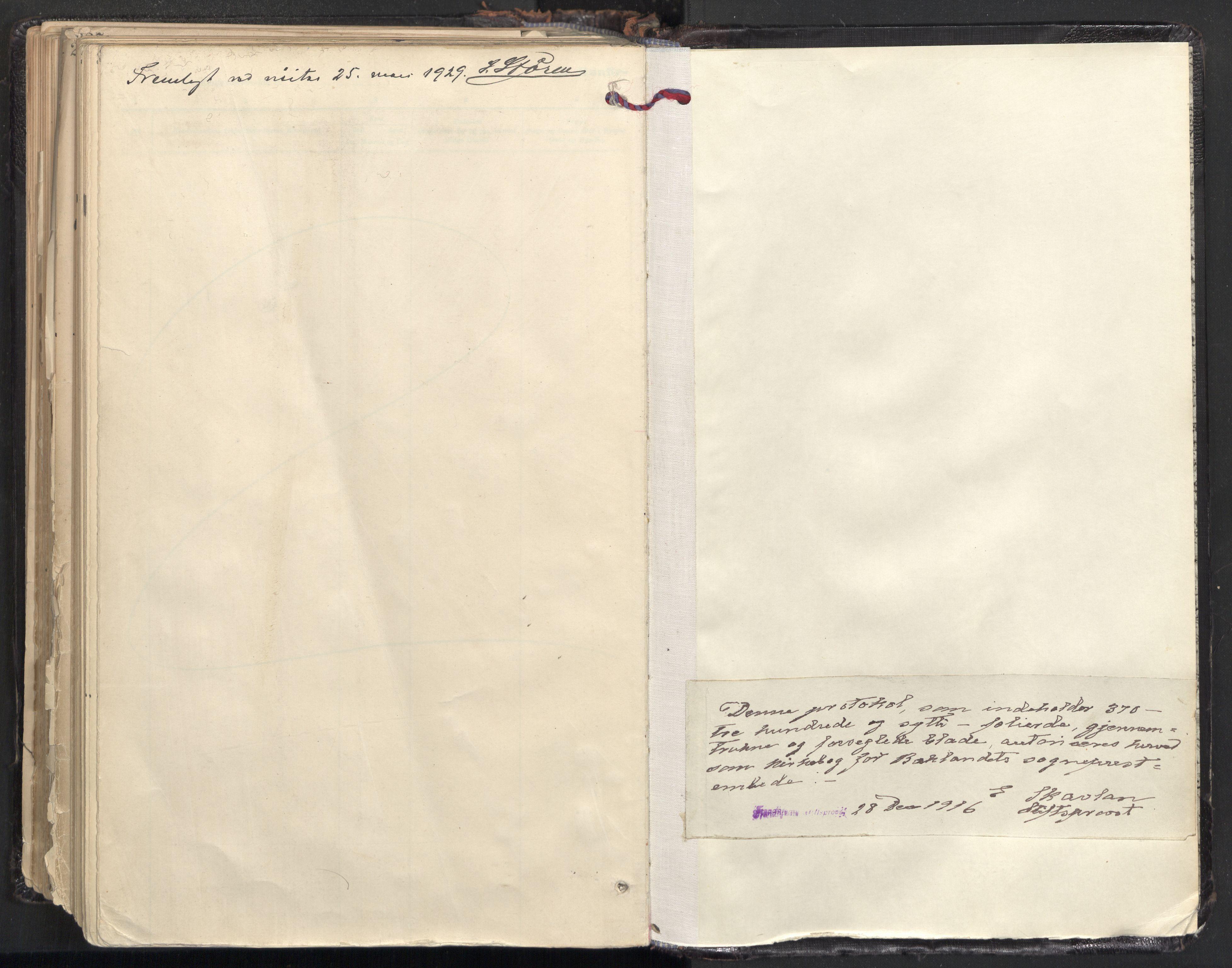 SAT, Ministerialprotokoller, klokkerbøker og fødselsregistre - Sør-Trøndelag, 604/L0205: Ministerialbok nr. 604A25, 1917-1932