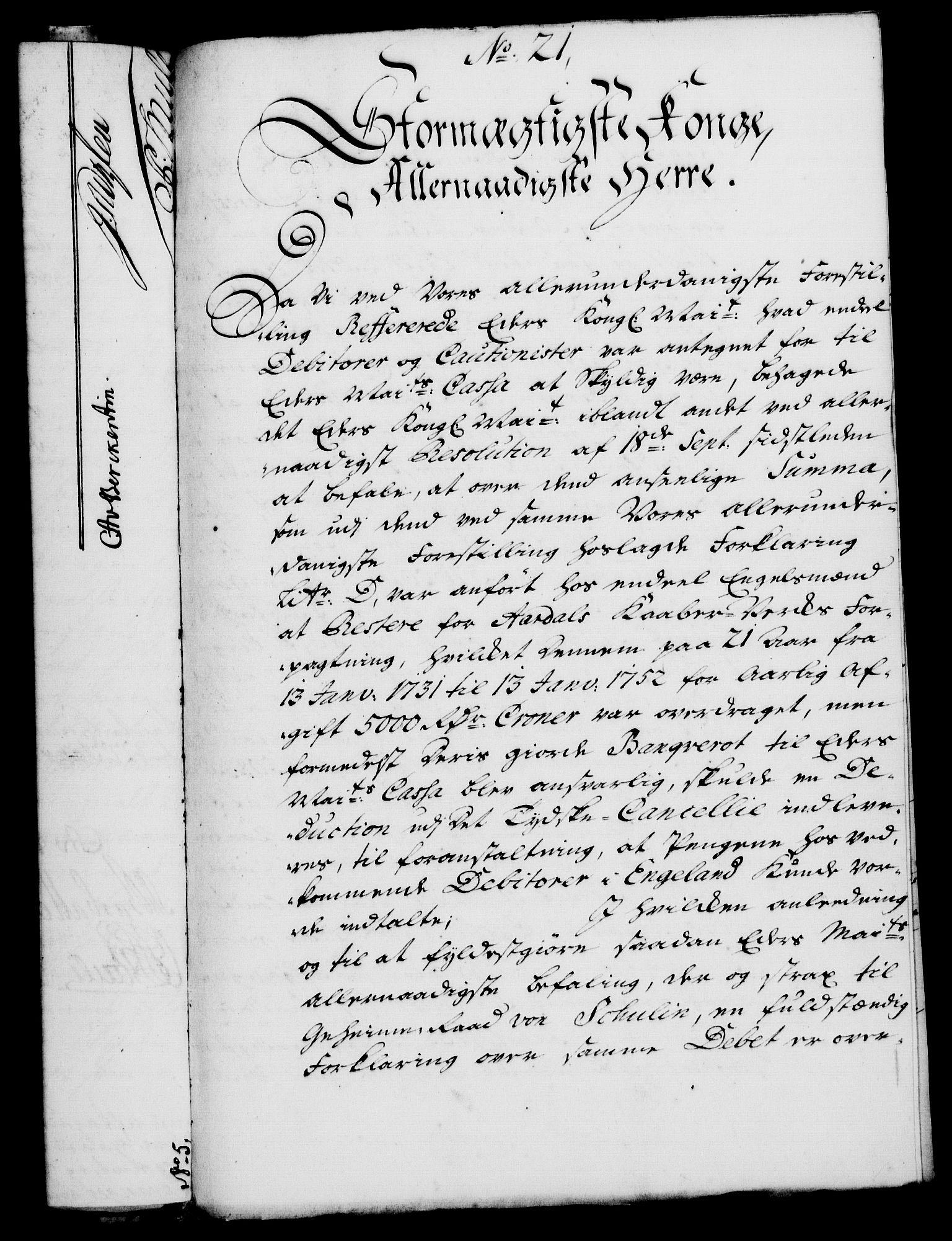 RA, Rentekammeret, Kammerkanselliet, G/Gf/Gfa/L0025: Norsk relasjons- og resolusjonsprotokoll (merket RK 52.25), 1742, s. 140