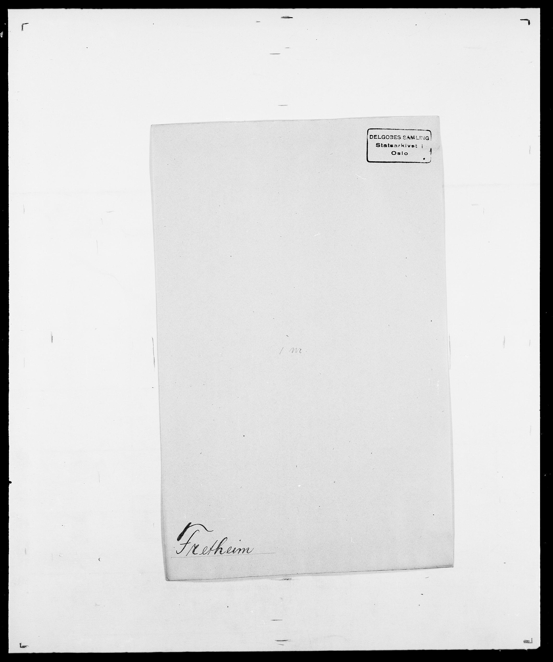 SAO, Delgobe, Charles Antoine - samling, D/Da/L0012: Flor, Floer, Flohr - Fritzner, s. 751
