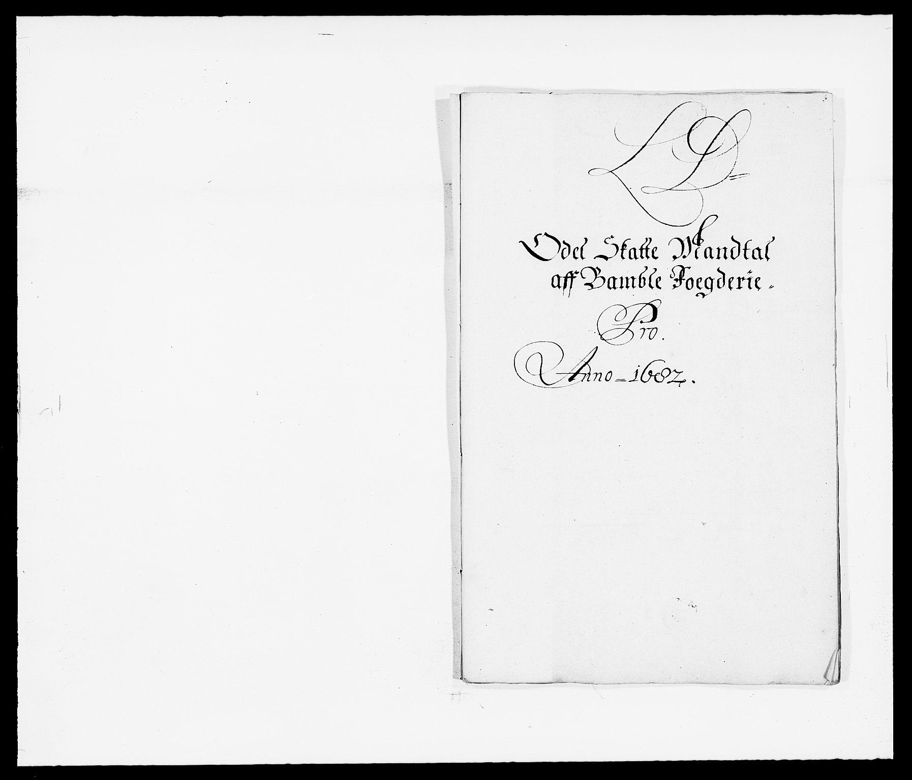 RA, Rentekammeret inntil 1814, Reviderte regnskaper, Fogderegnskap, R34/L2046: Fogderegnskap Bamble, 1682-1683, s. 120