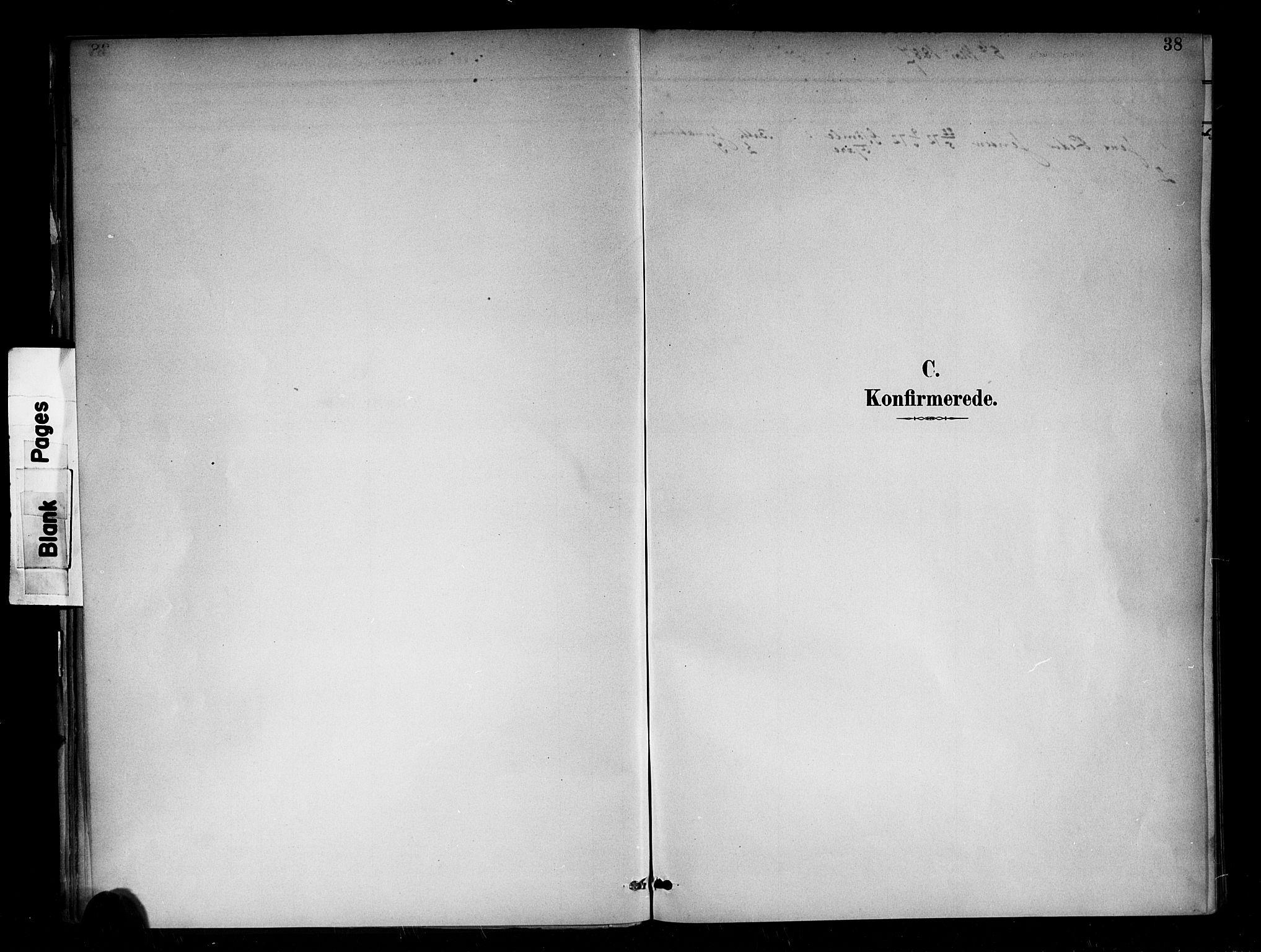 SAB, Den Norske Sjømannsmisjon i utlandet*, Ministerialbok nr. A 2, 1886-1888, s. 37