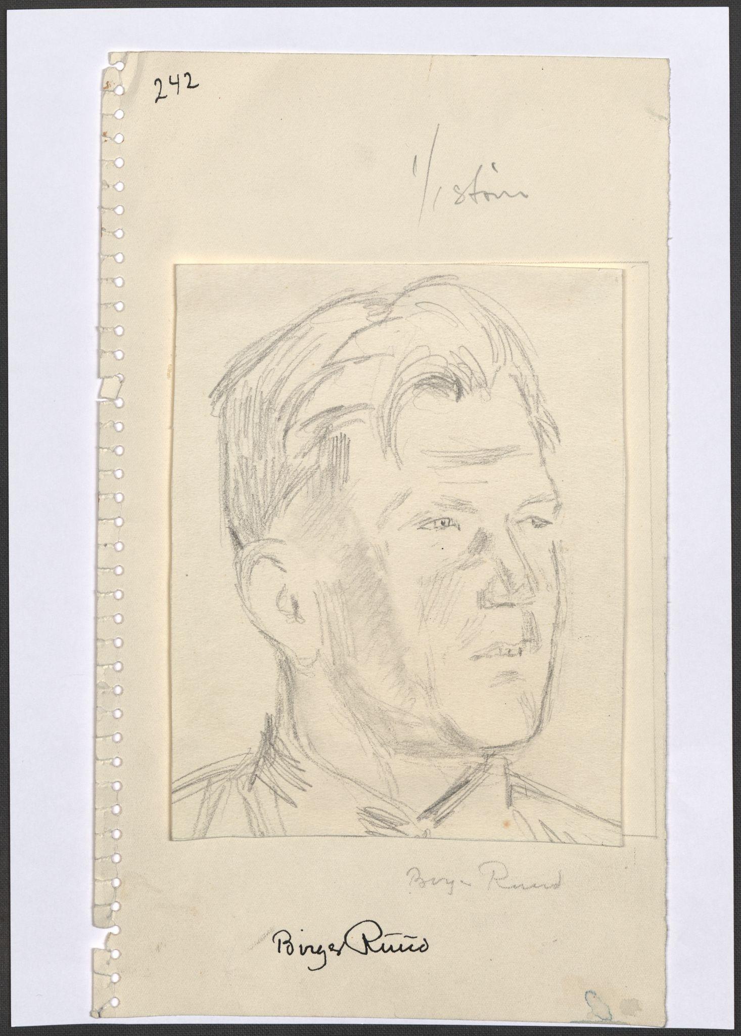 RA, Grøgaard, Joachim, F/L0002: Tegninger og tekster, 1942-1945, s. 57