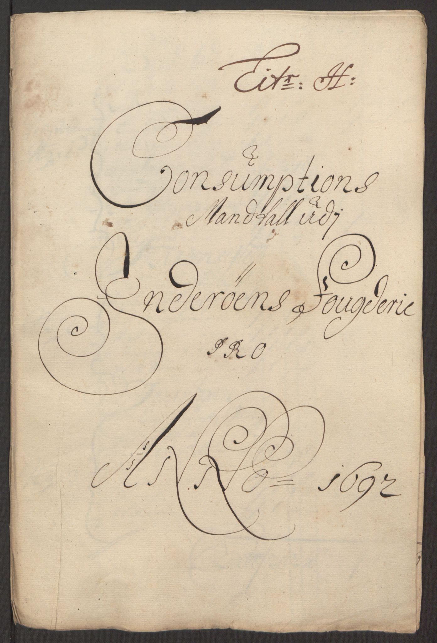 RA, Rentekammeret inntil 1814, Reviderte regnskaper, Fogderegnskap, R63/L4308: Fogderegnskap Inderøy, 1692-1694, s. 118
