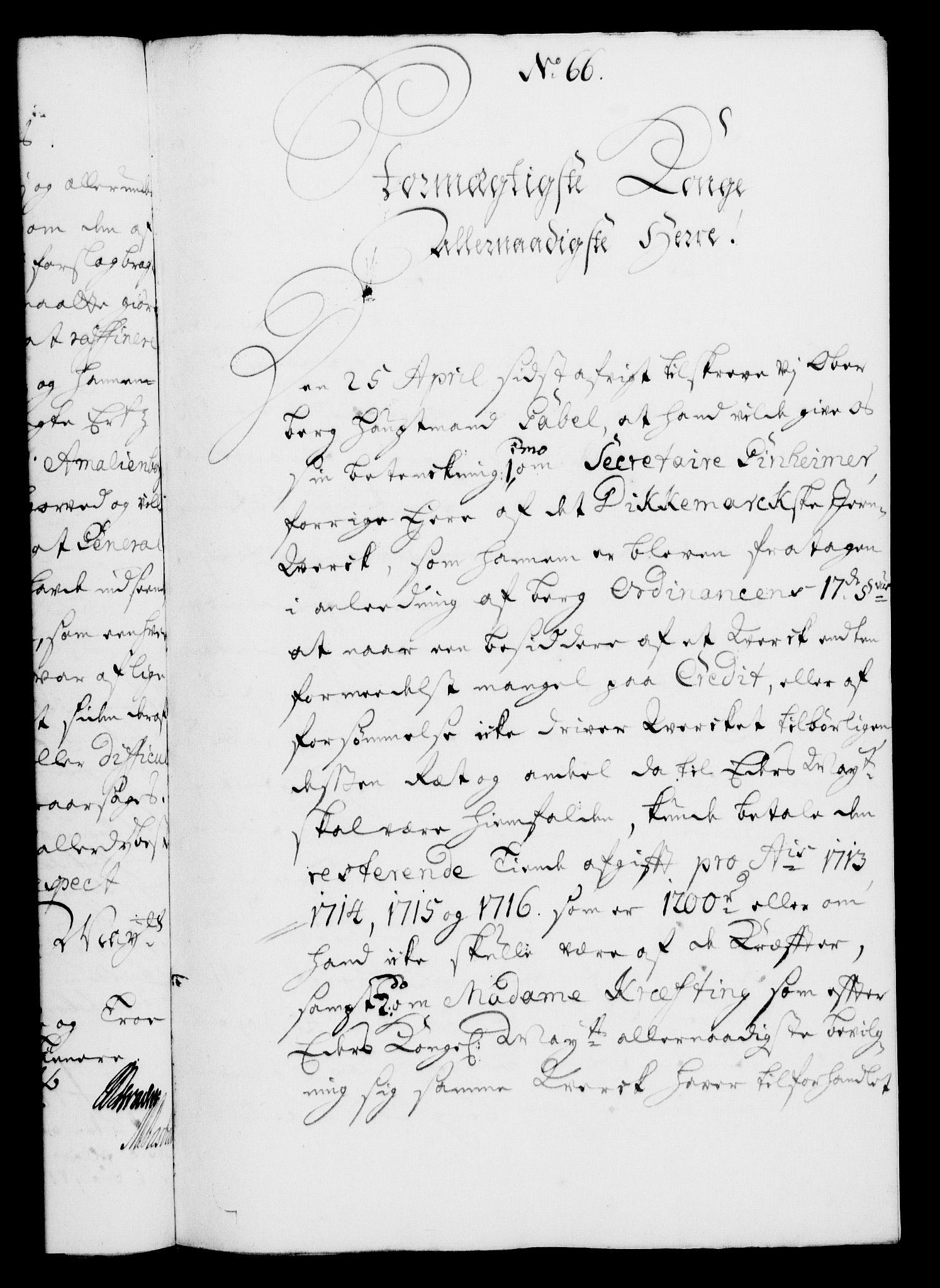 RA, Rentekammeret, Kammerkanselliet, G/Gf/Gfa/L0005: Norsk relasjons- og resolusjonsprotokoll (merket RK 52.5), 1722, s. 344