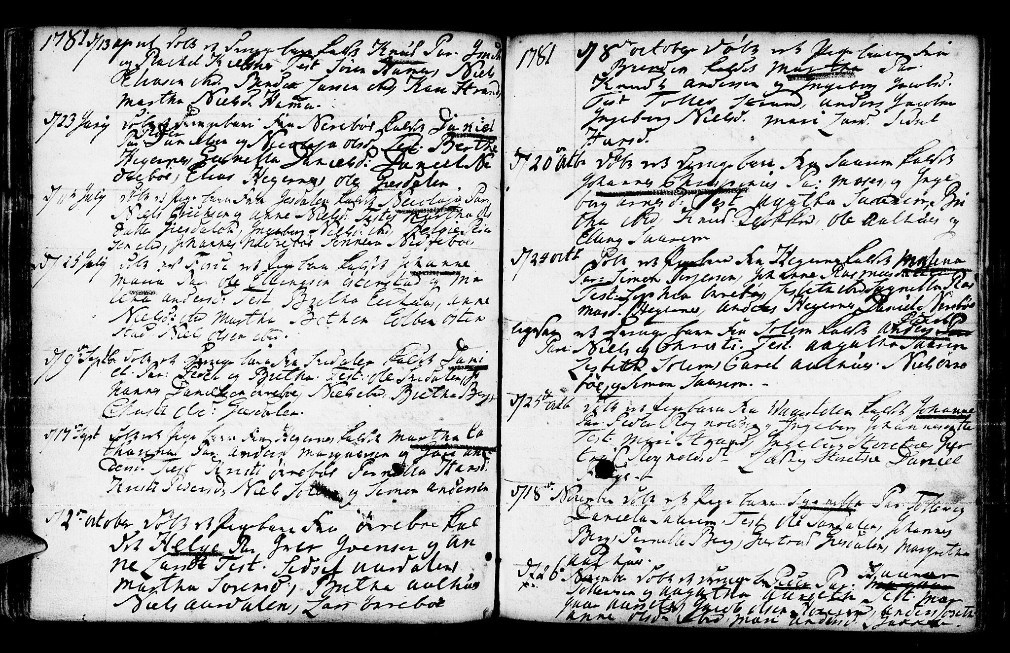 SAB, Jølster Sokneprestembete, Ministerialbok nr. A 3, 1748-1789, s. 179