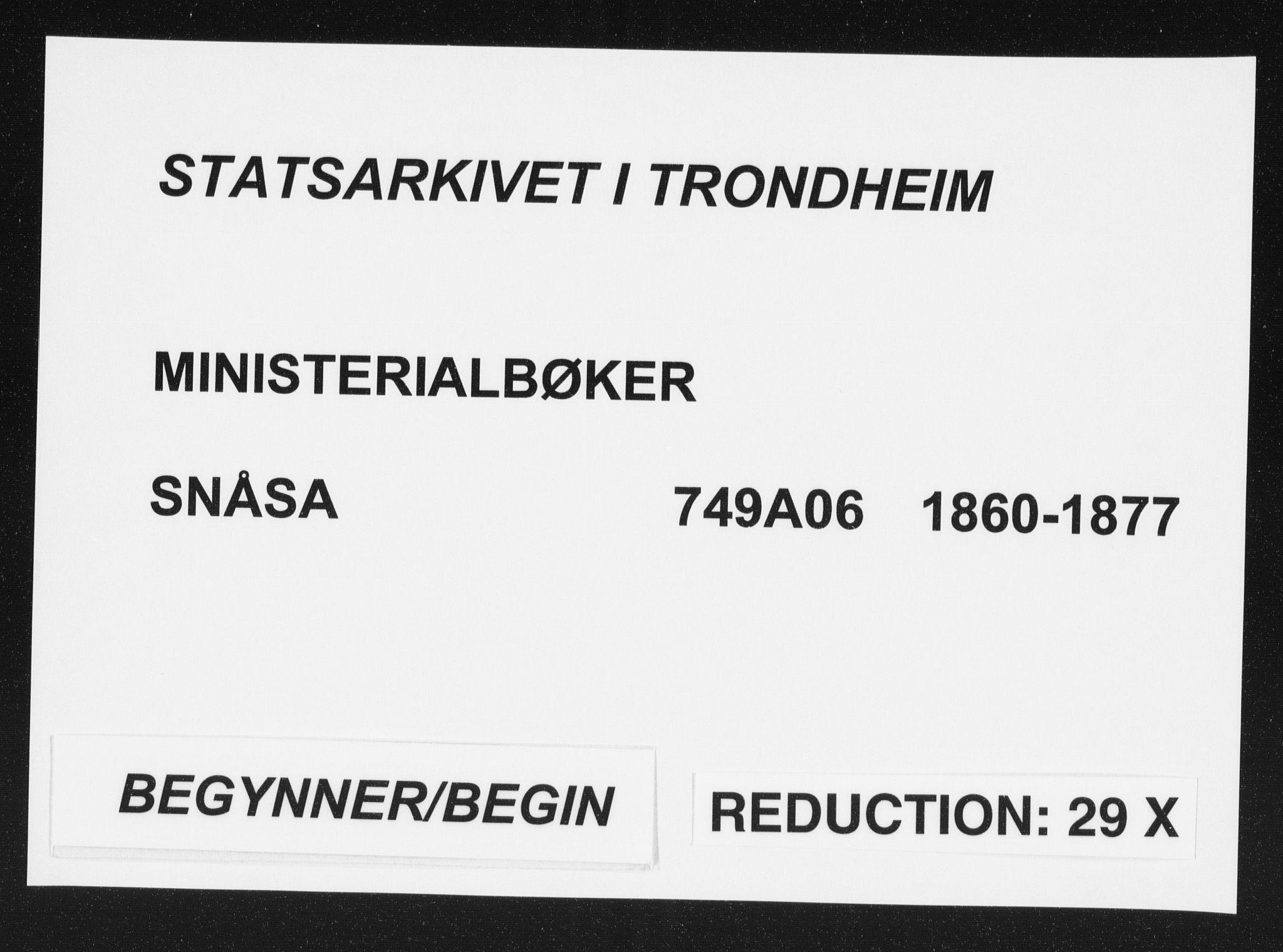 SAT, Ministerialprotokoller, klokkerbøker og fødselsregistre - Nord-Trøndelag, 749/L0472: Ministerialbok nr. 749A06, 1857-1873