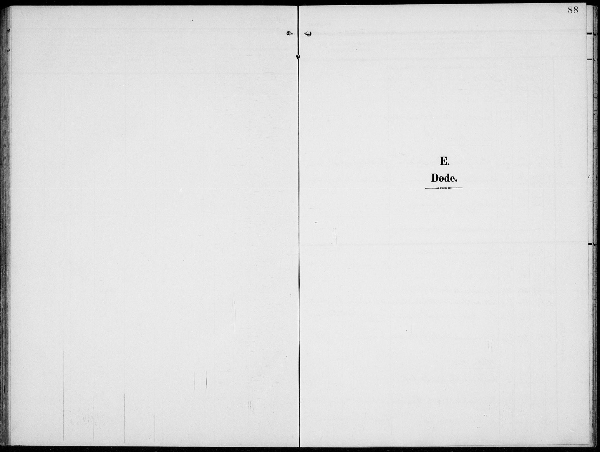 SAH, Lom prestekontor, L/L0007: Klokkerbok nr. 7, 1904-1938, s. 88