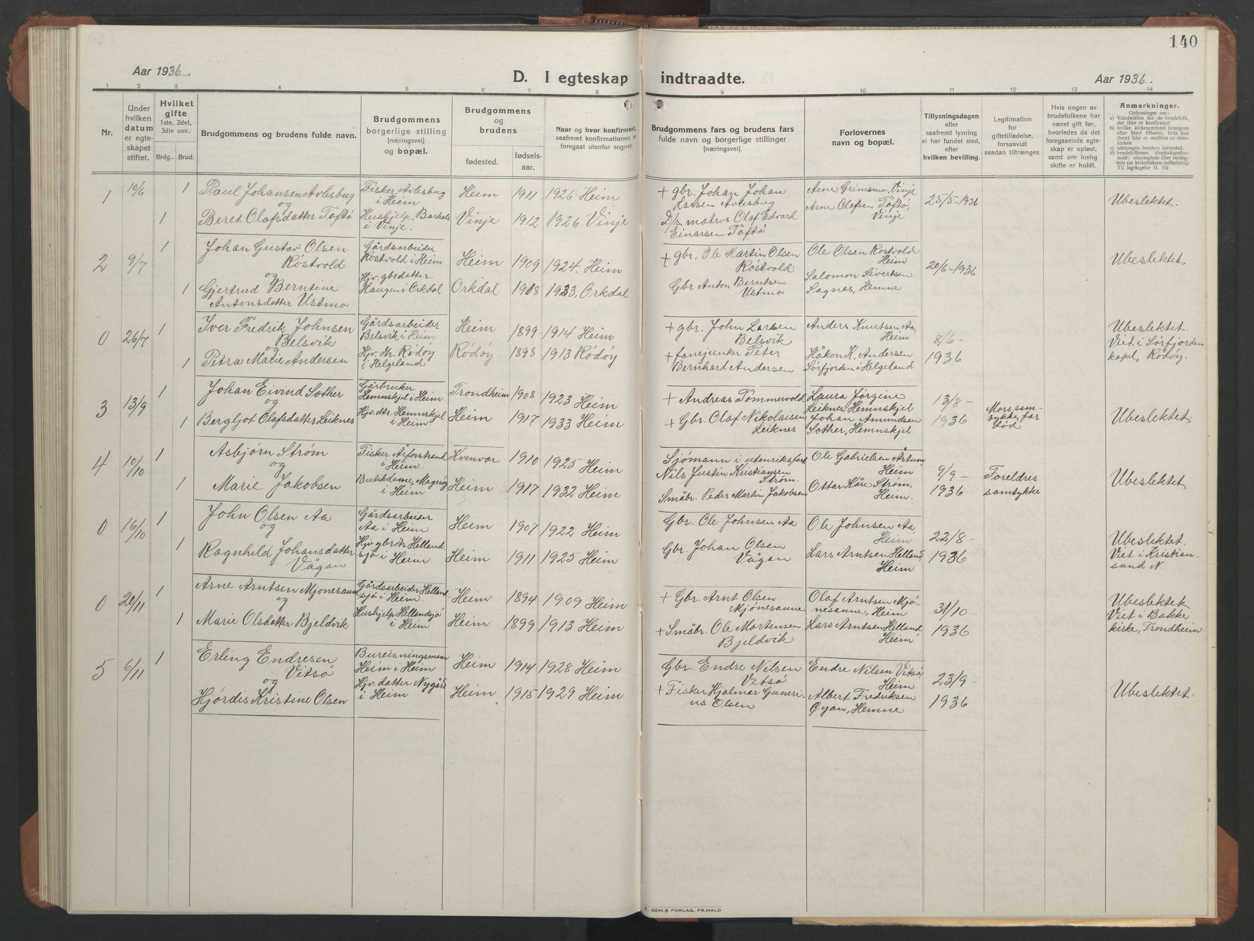 SAT, Ministerialprotokoller, klokkerbøker og fødselsregistre - Sør-Trøndelag, 633/L0521: Klokkerbok nr. 633C03, 1921-1941, s. 132