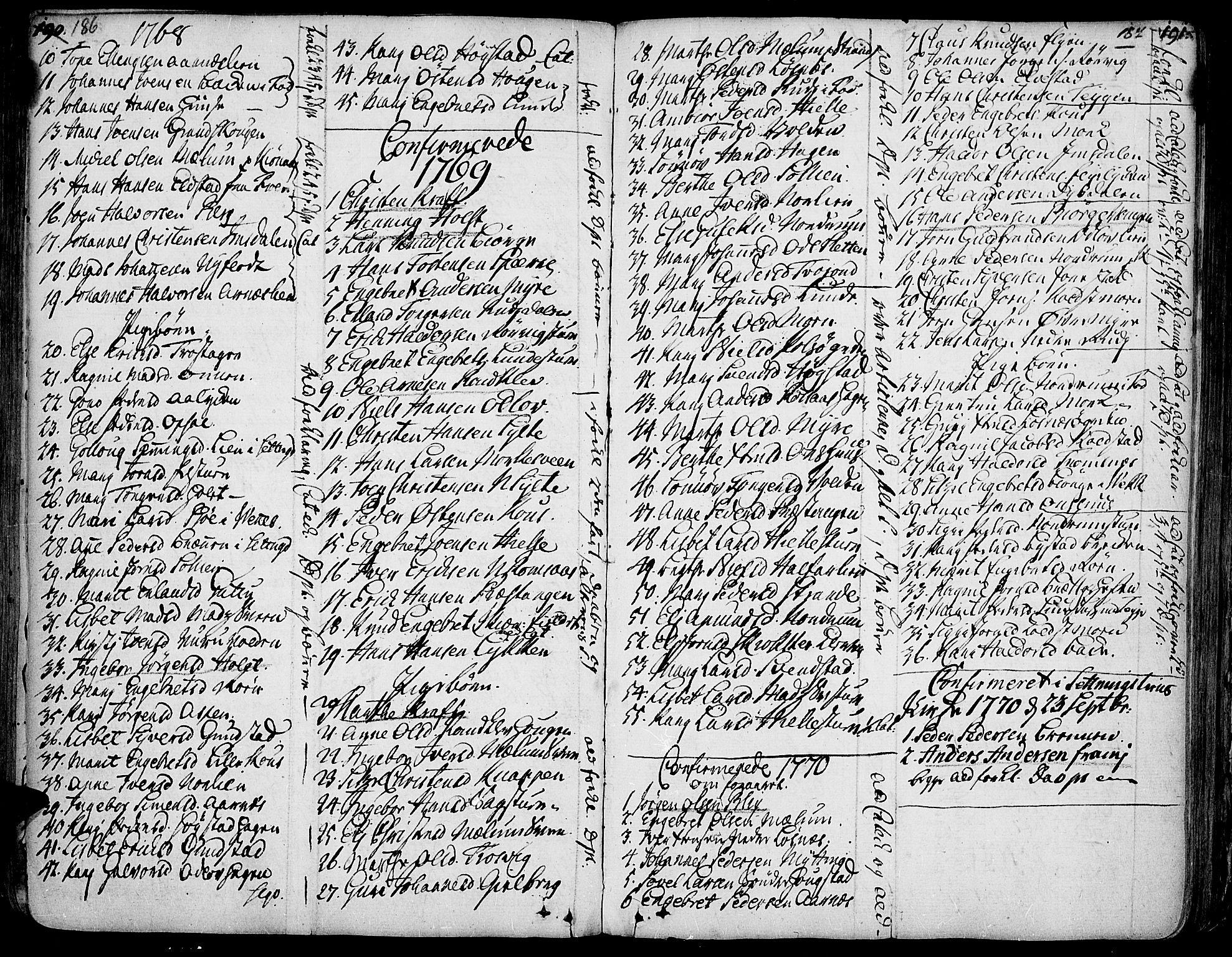 SAH, Ringebu prestekontor, Ministerialbok nr. 2, 1734-1780, s. 186-187