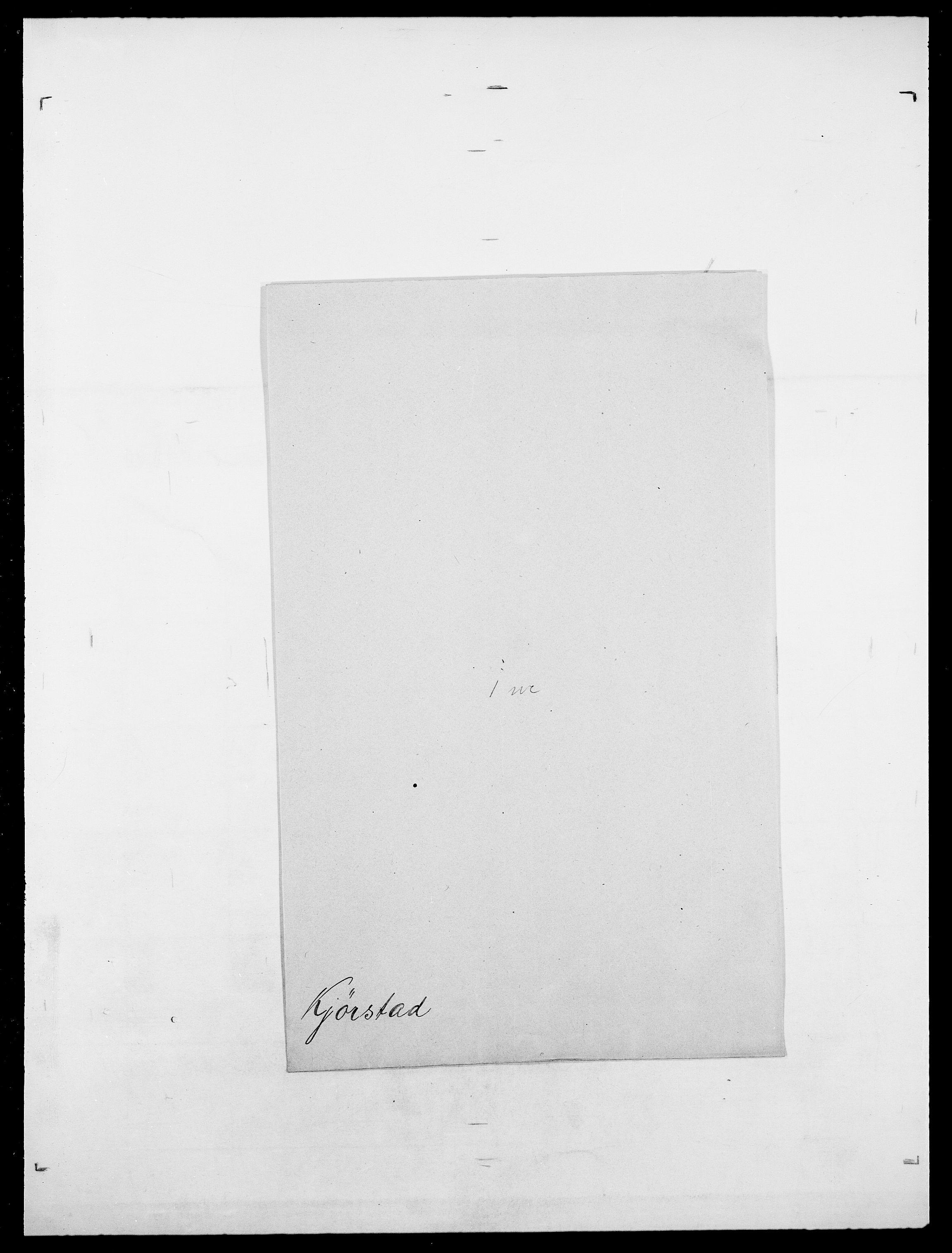 SAO, Delgobe, Charles Antoine - samling, D/Da/L0020: Irgens - Kjøsterud, s. 851
