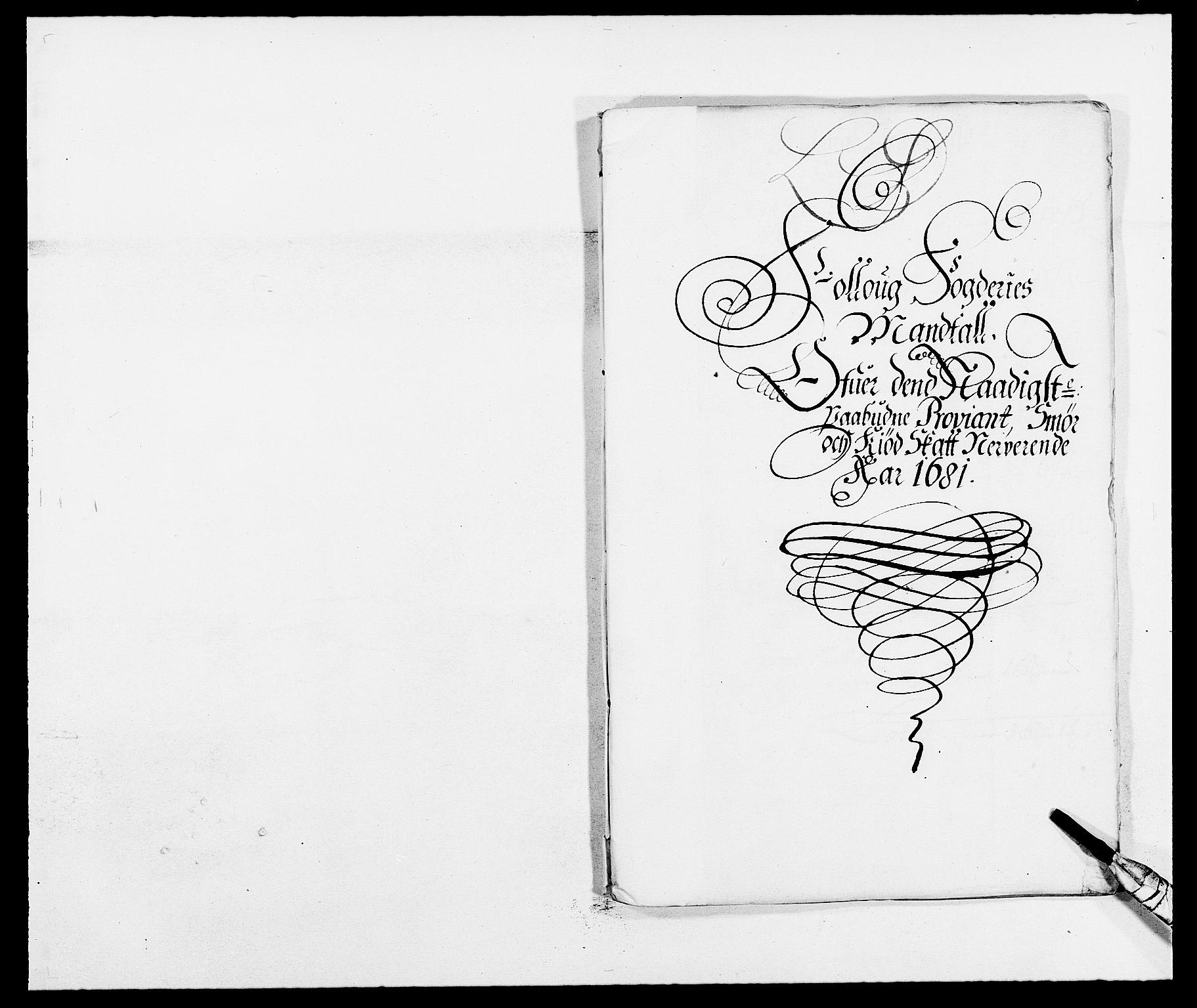 RA, Rentekammeret inntil 1814, Reviderte regnskaper, Fogderegnskap, R09/L0429: Fogderegnskap Follo, 1680-1681, s. 311