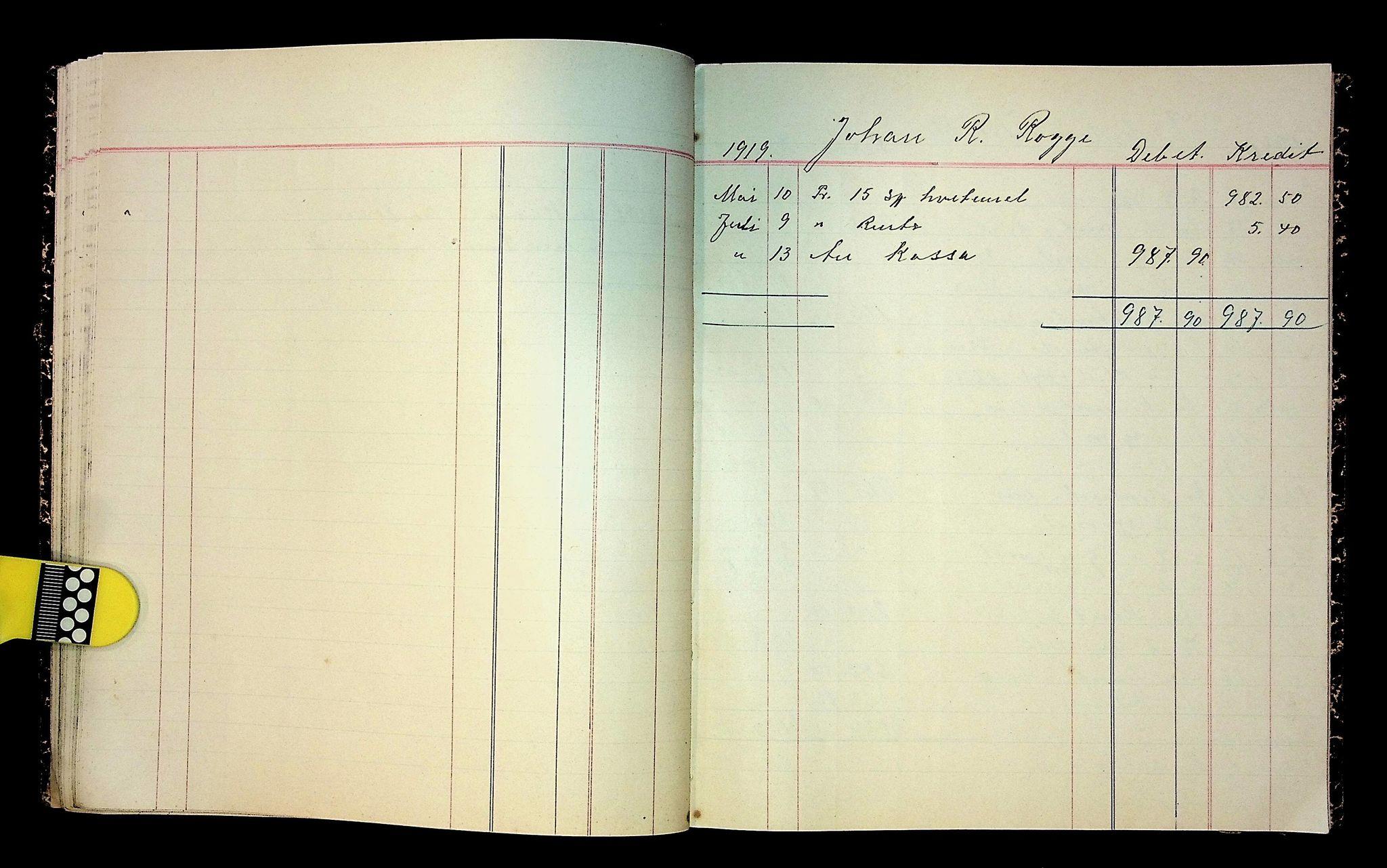 IKAH, Varaldsøy kommune. Mundheim provianteringsråd, R/Ra/L0002: Kontobok  for Mundheim provianteringsråd, 1919-1920, s. 28