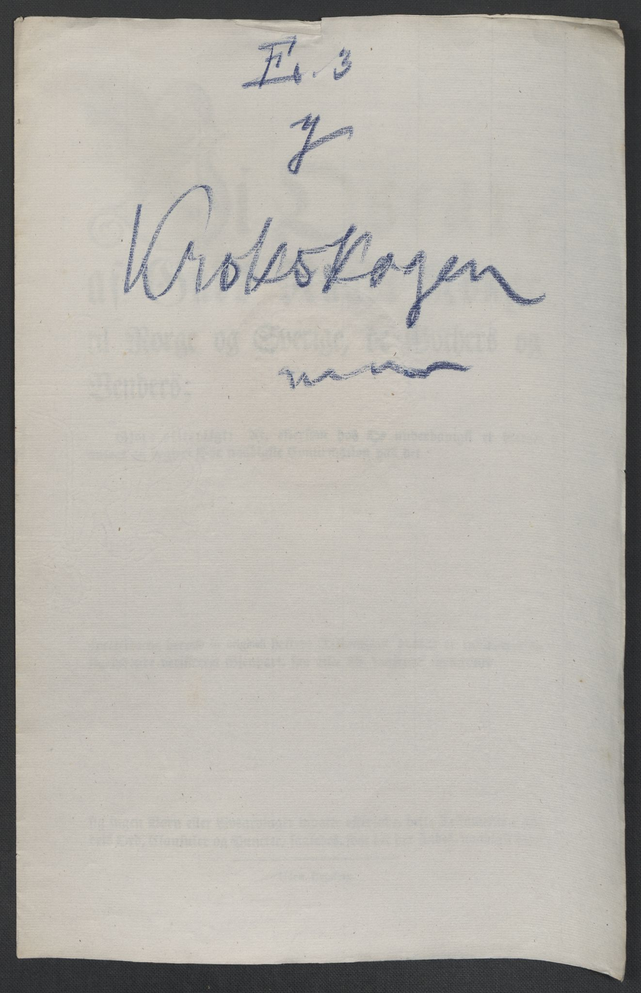 RA, Christie, Wilhelm Frimann Koren, F/L0005, 1815-1816, s. 615