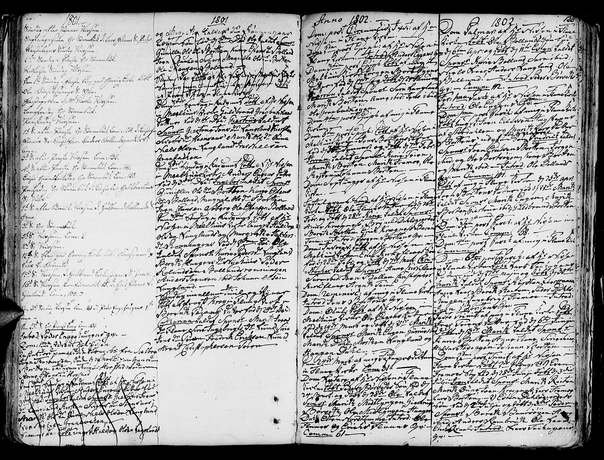 SAT, Ministerialprotokoller, klokkerbøker og fødselsregistre - Sør-Trøndelag, 691/L1062: Ministerialbok nr. 691A02 /2, 1768-1815, s. 128