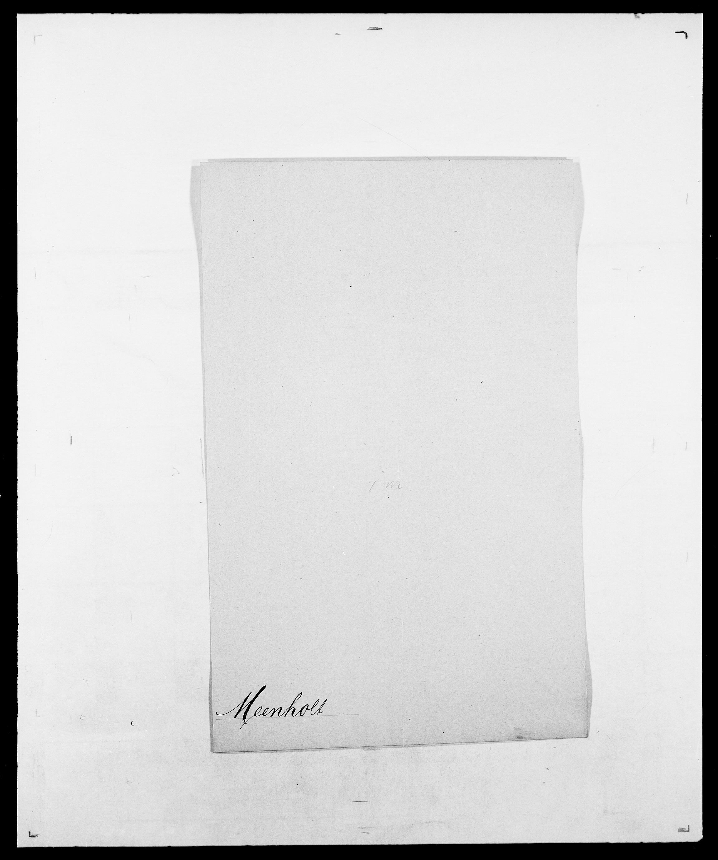 SAO, Delgobe, Charles Antoine - samling, D/Da/L0026: Mechelby - Montoppidan, s. 100