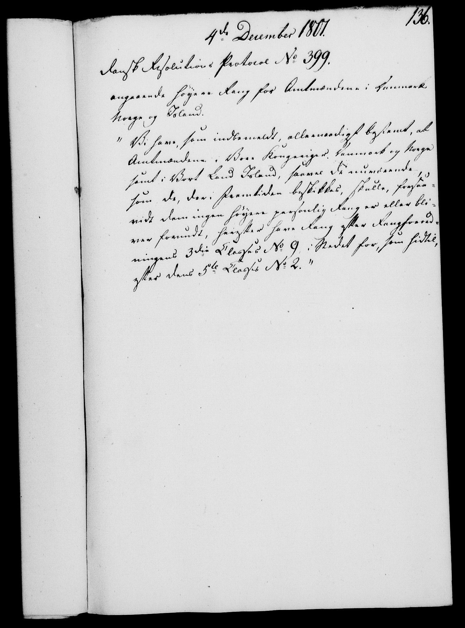 RA, Rentekammeret, Kammerkanselliet, G/Gf/Gfa/L0083: Norsk relasjons- og resolusjonsprotokoll (merket RK 52.83), 1801, s. 777