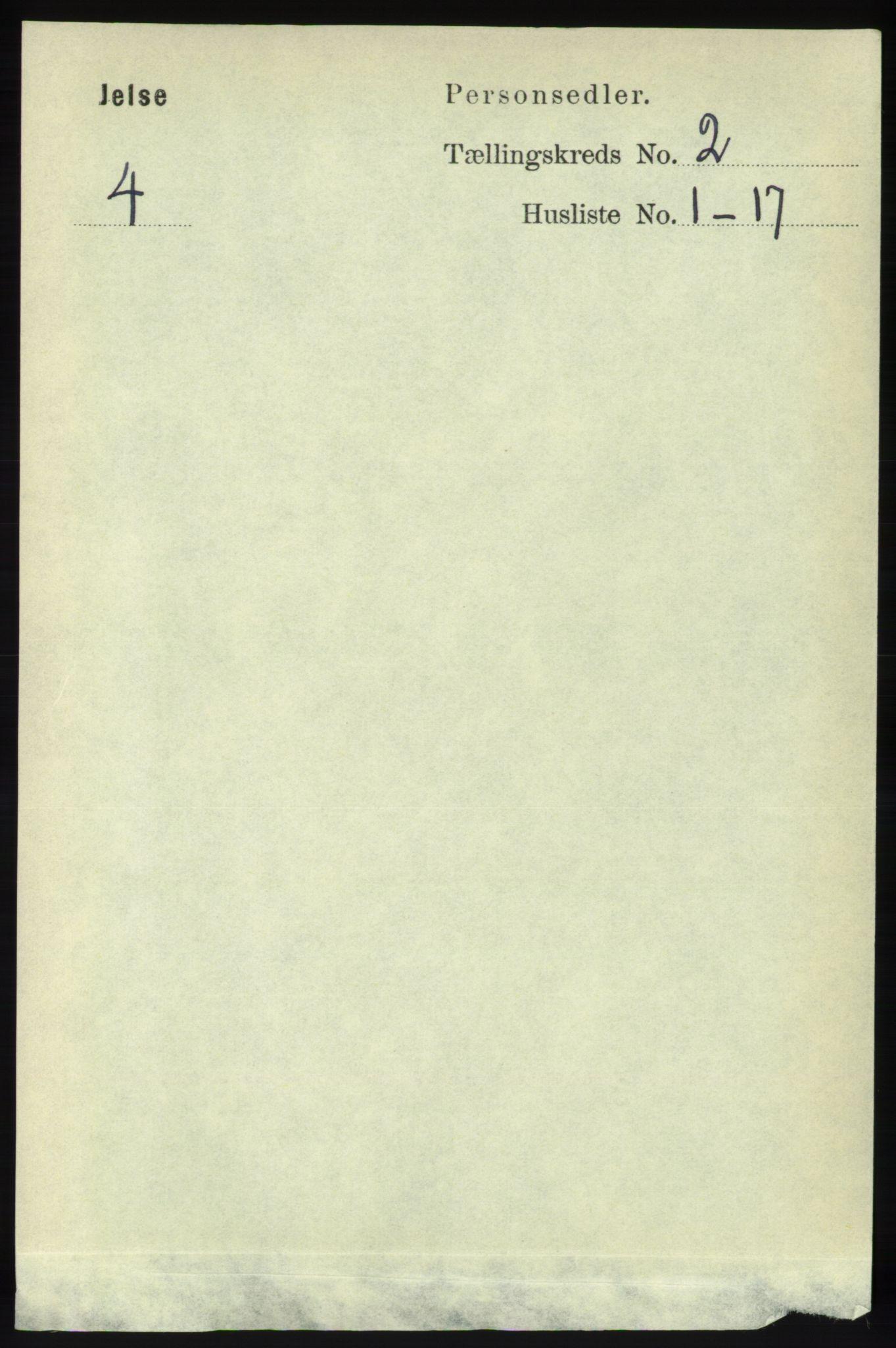 RA, Folketelling 1891 for 1138 Jelsa herred, 1891, s. 246