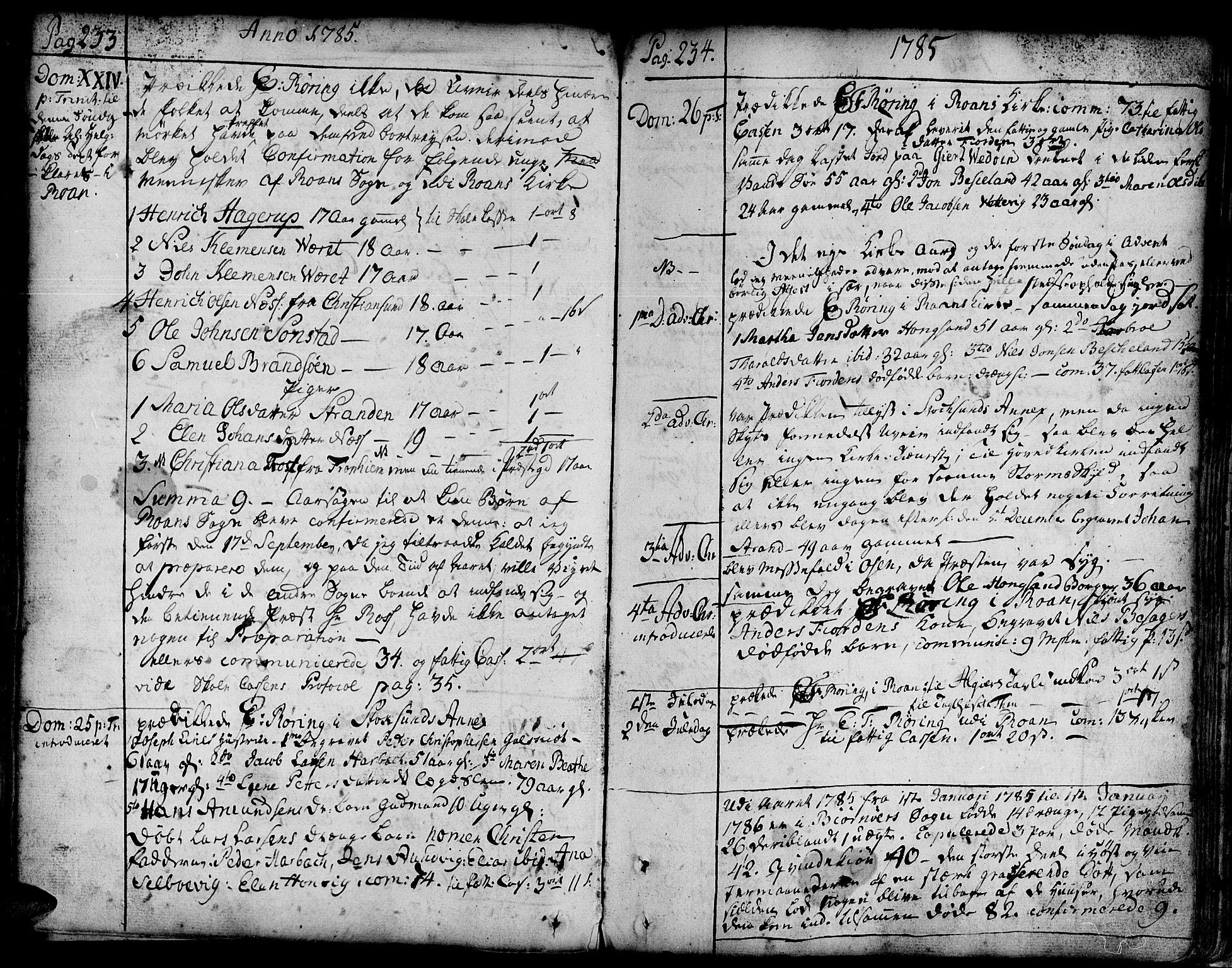 SAT, Ministerialprotokoller, klokkerbøker og fødselsregistre - Sør-Trøndelag, 657/L0700: Ministerialbok nr. 657A01, 1732-1801, s. 333-334