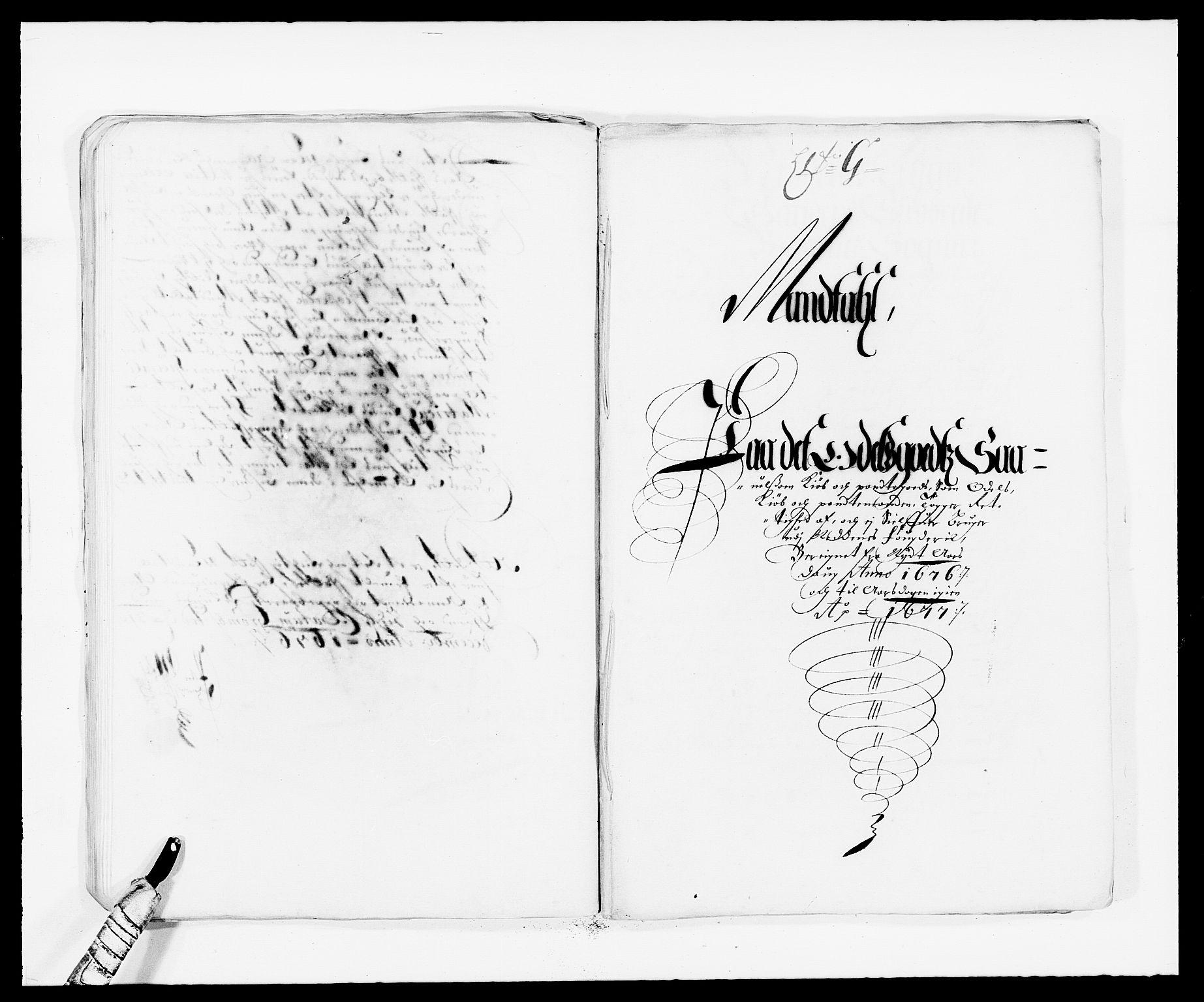 RA, Rentekammeret inntil 1814, Reviderte regnskaper, Fogderegnskap, R39/L2301: Fogderegnskap Nedenes, 1675-1676, s. 301
