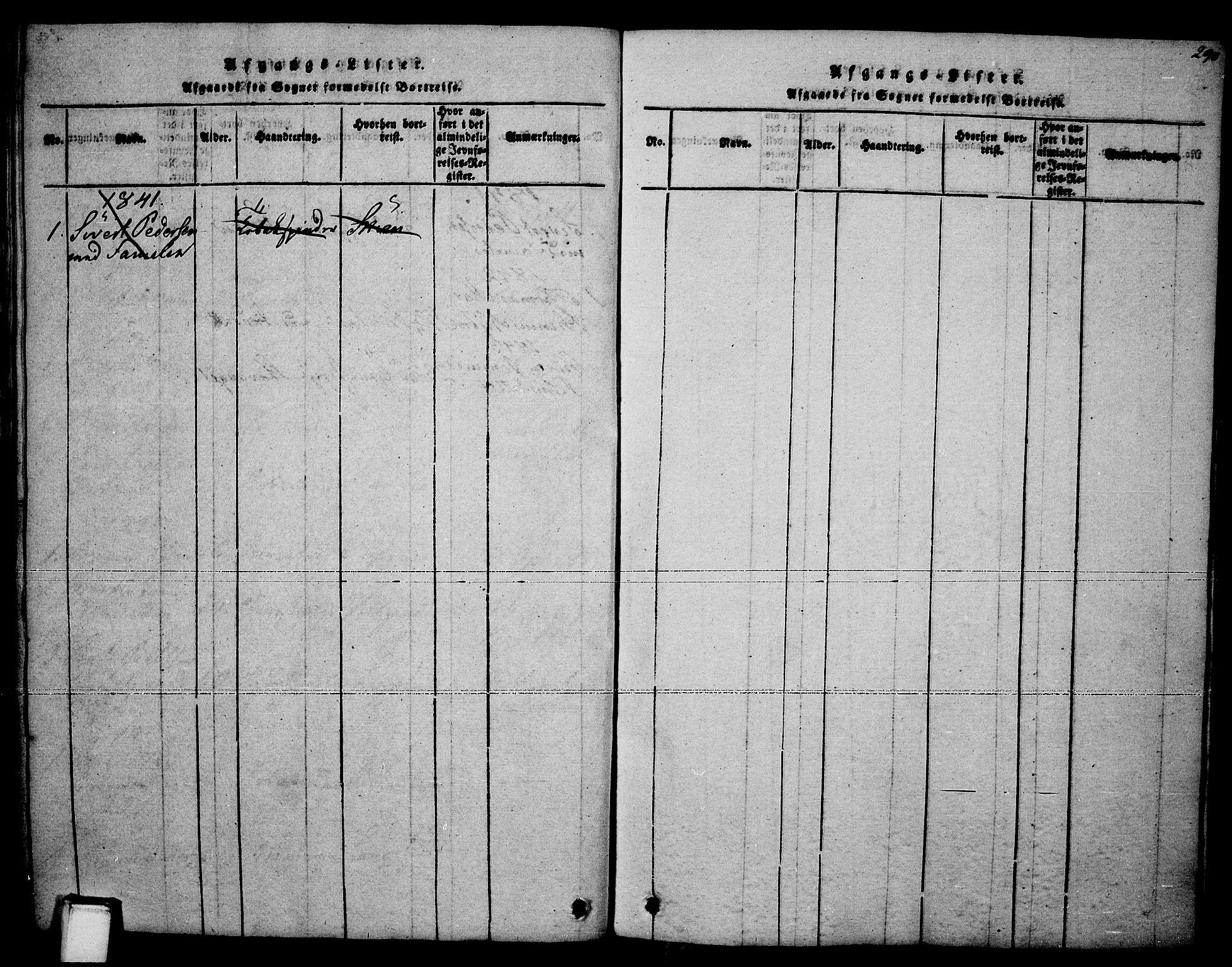 SAKO, Brevik kirkebøker, F/Fa/L0004: Ministerialbok nr. 4, 1814-1846, s. 290