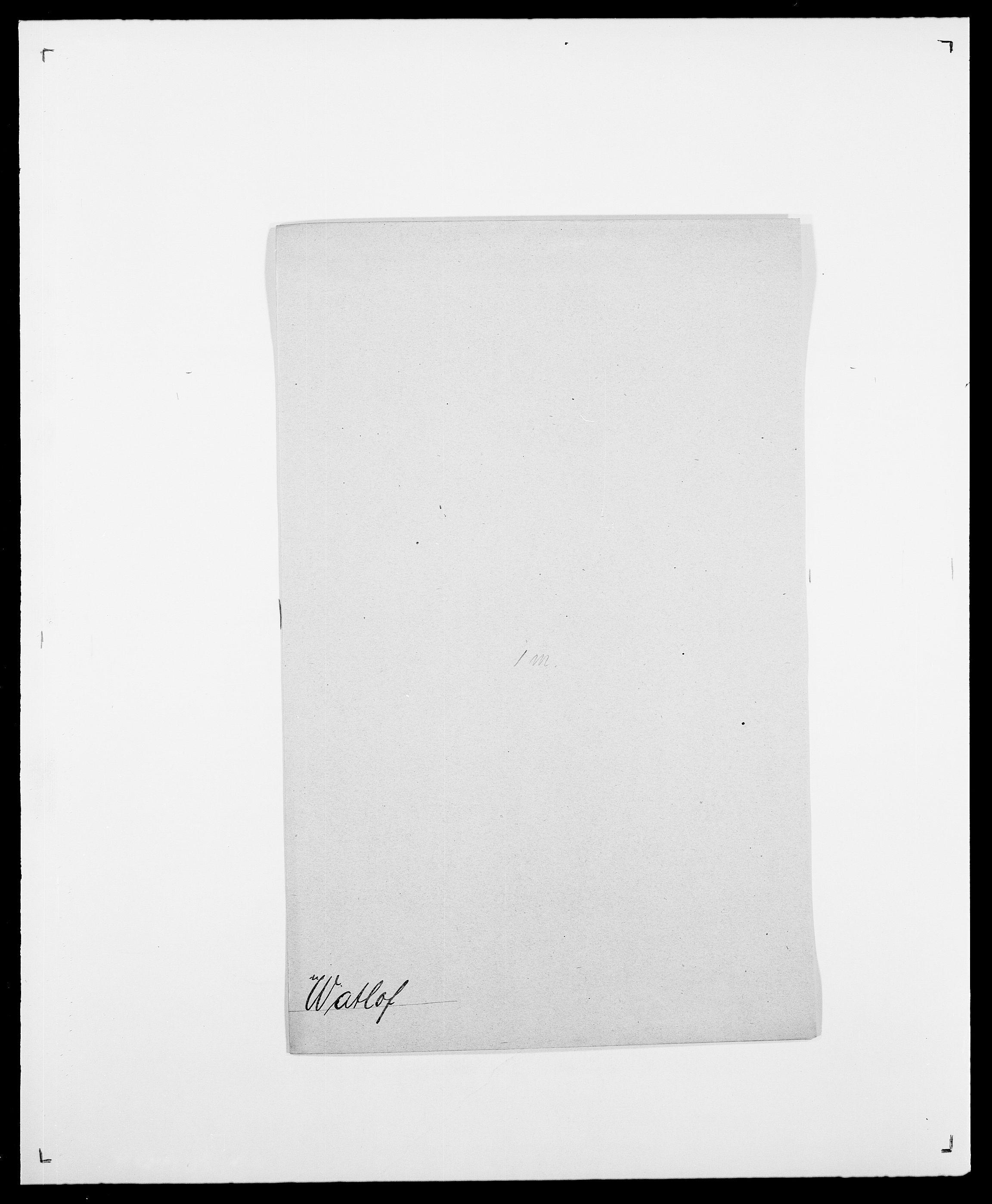 SAO, Delgobe, Charles Antoine - samling, D/Da/L0040: Usgaard - Velund, s. 377