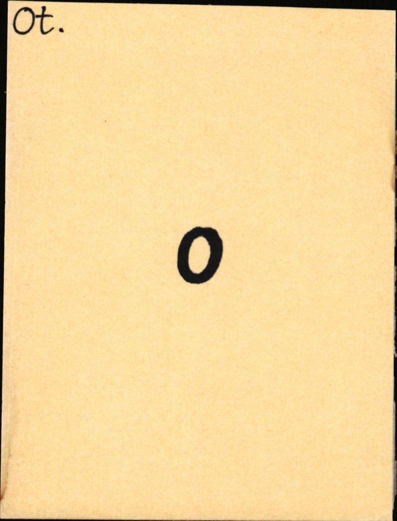 SAB, Statens vegvesen, Hordaland vegkontor, Ha/L0043: R-eierkort O-P, 1920-1971, s. 1