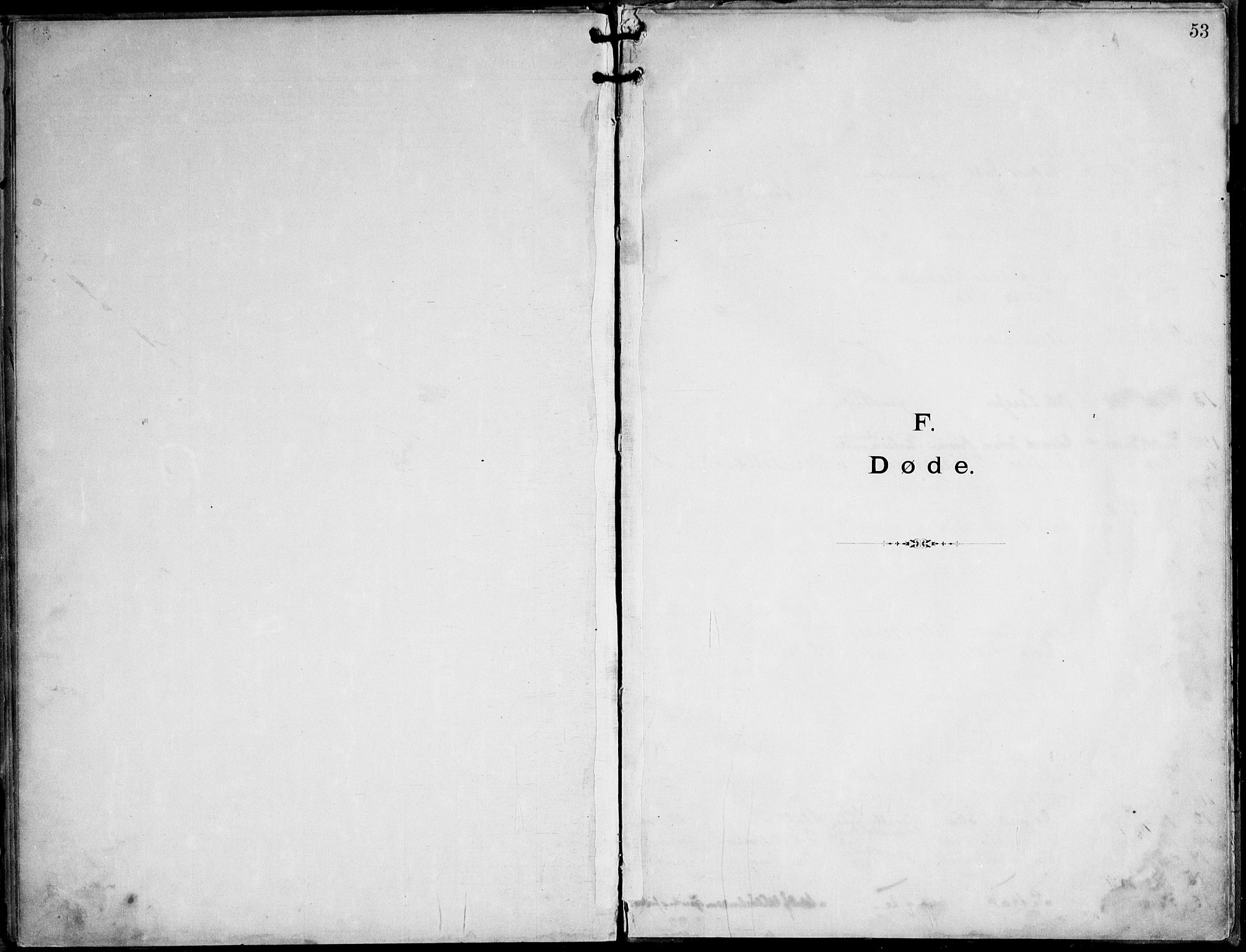 SAT, Ministerialprotokoller, klokkerbøker og fødselsregistre - Nordland, 888/L1276: Dissenterprotokoll nr. 888D03, 1893-1944, s. 53