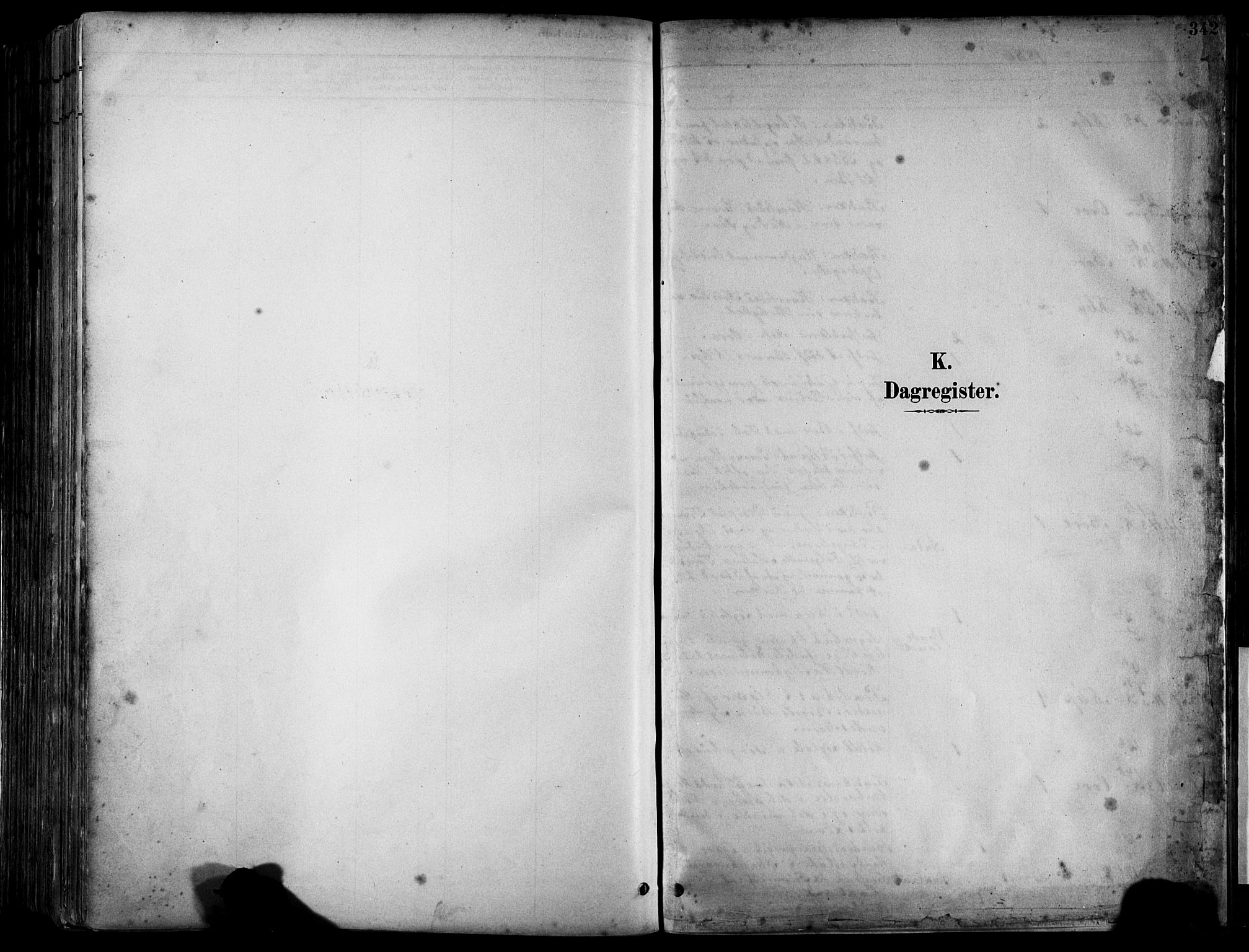 SAST, Klepp sokneprestkontor, 30BA/L0009: Ministerialbok nr. A 7, 1886-1915, s. 342