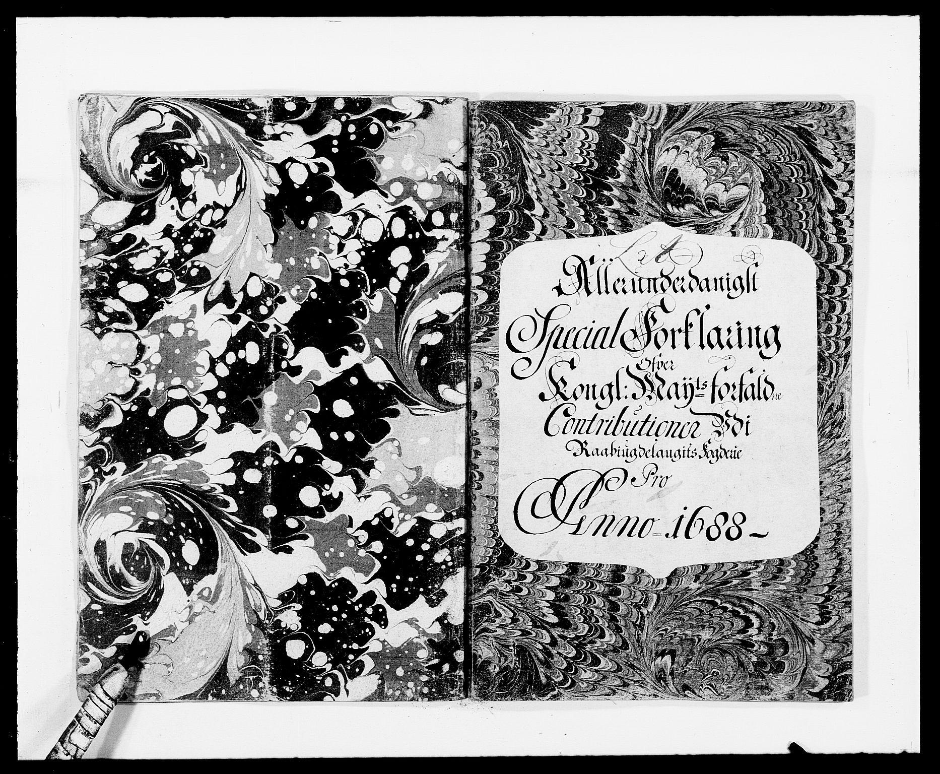RA, Rentekammeret inntil 1814, Reviderte regnskaper, Fogderegnskap, R40/L2441: Fogderegnskap Råbyggelag, 1688, s. 12