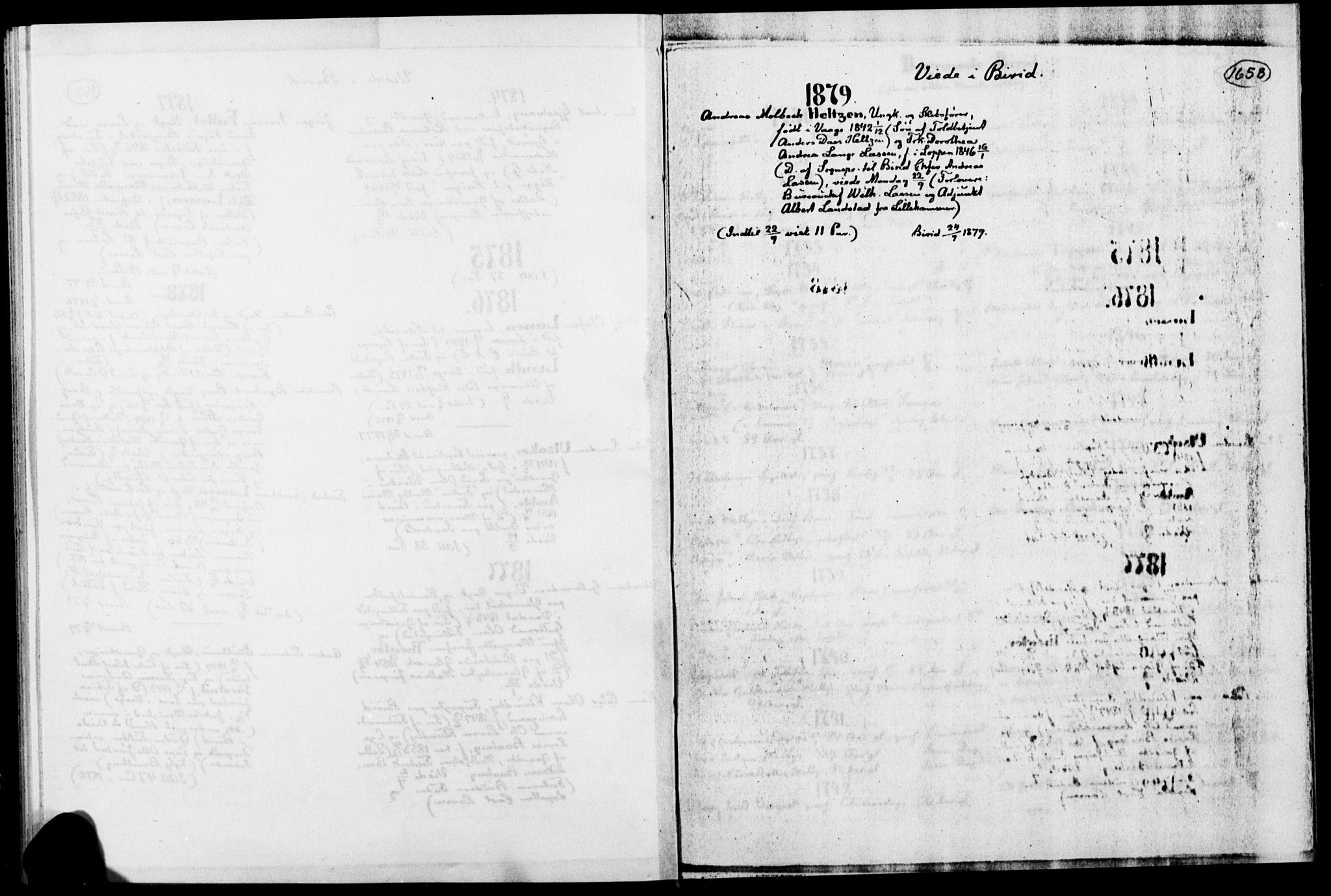 SAH, Biri prestekontor, Ministerialbok, 1730-1879, s. 165b