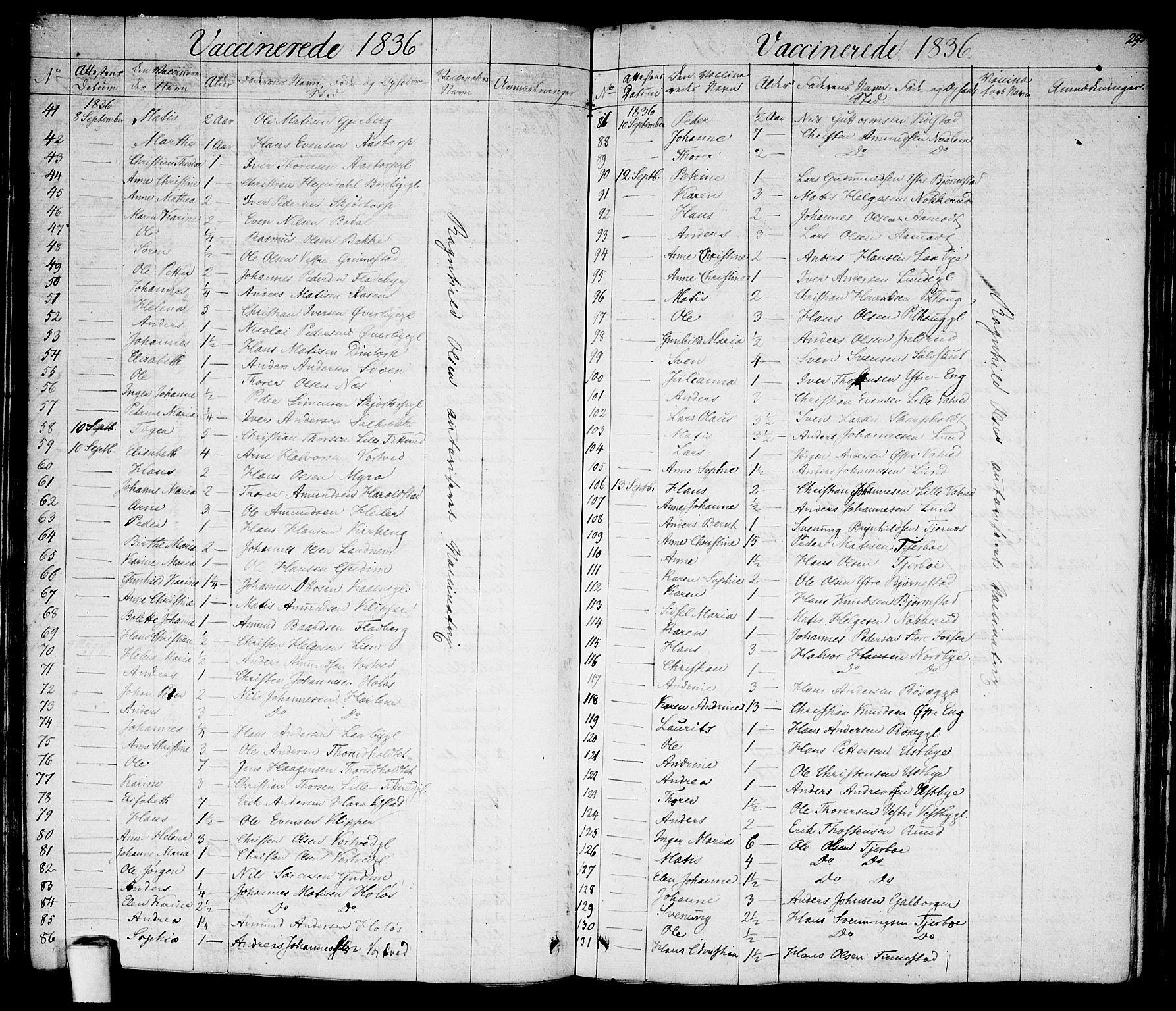 SAO, Rakkestad prestekontor Kirkebøker, F/Fa/L0007: Ministerialbok nr. I 7, 1825-1841, s. 295