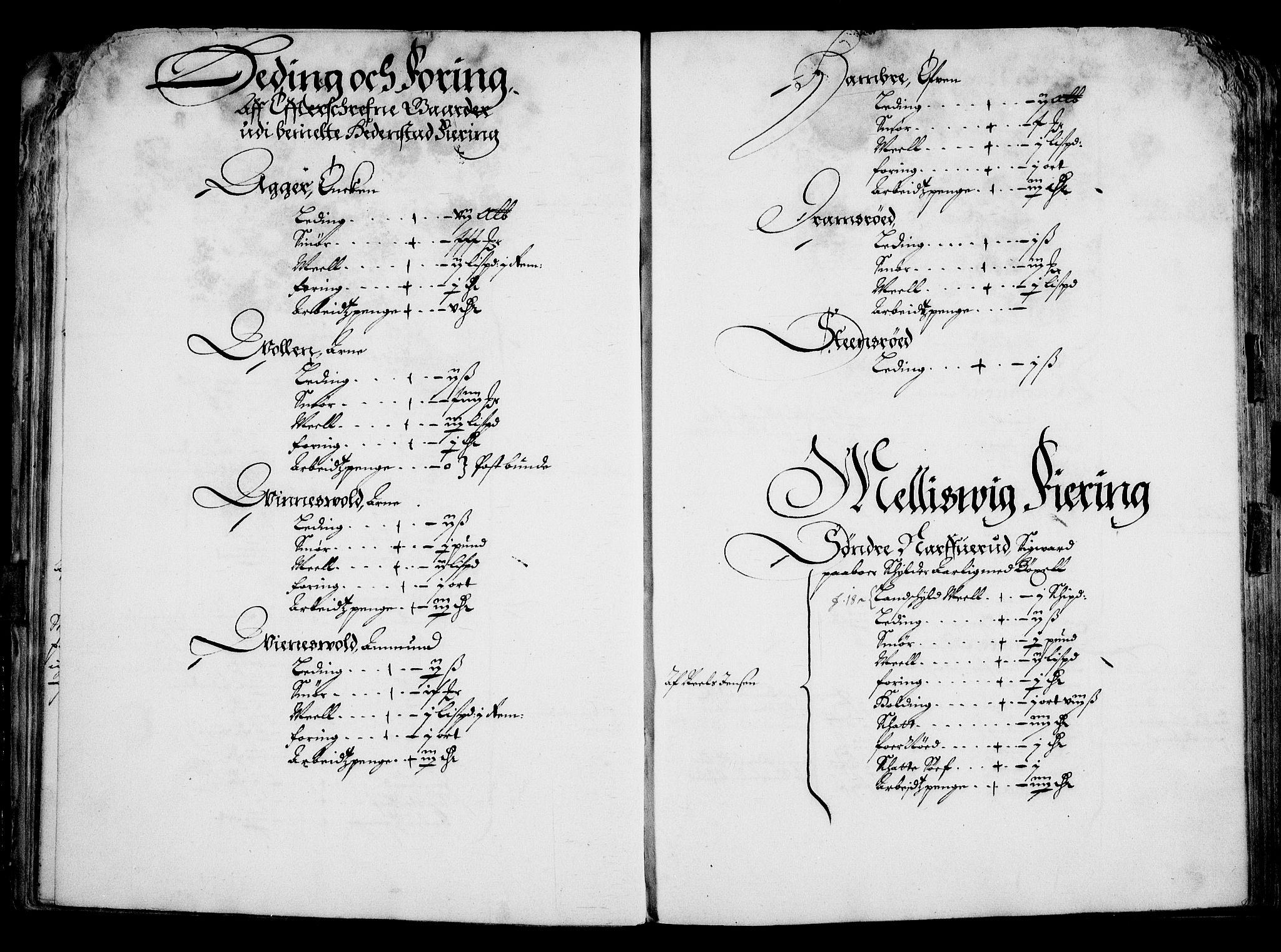 RA, Rentekammeret inntil 1814, Realistisk ordnet avdeling, On/L0001: Statens gods, 1651, s. 36