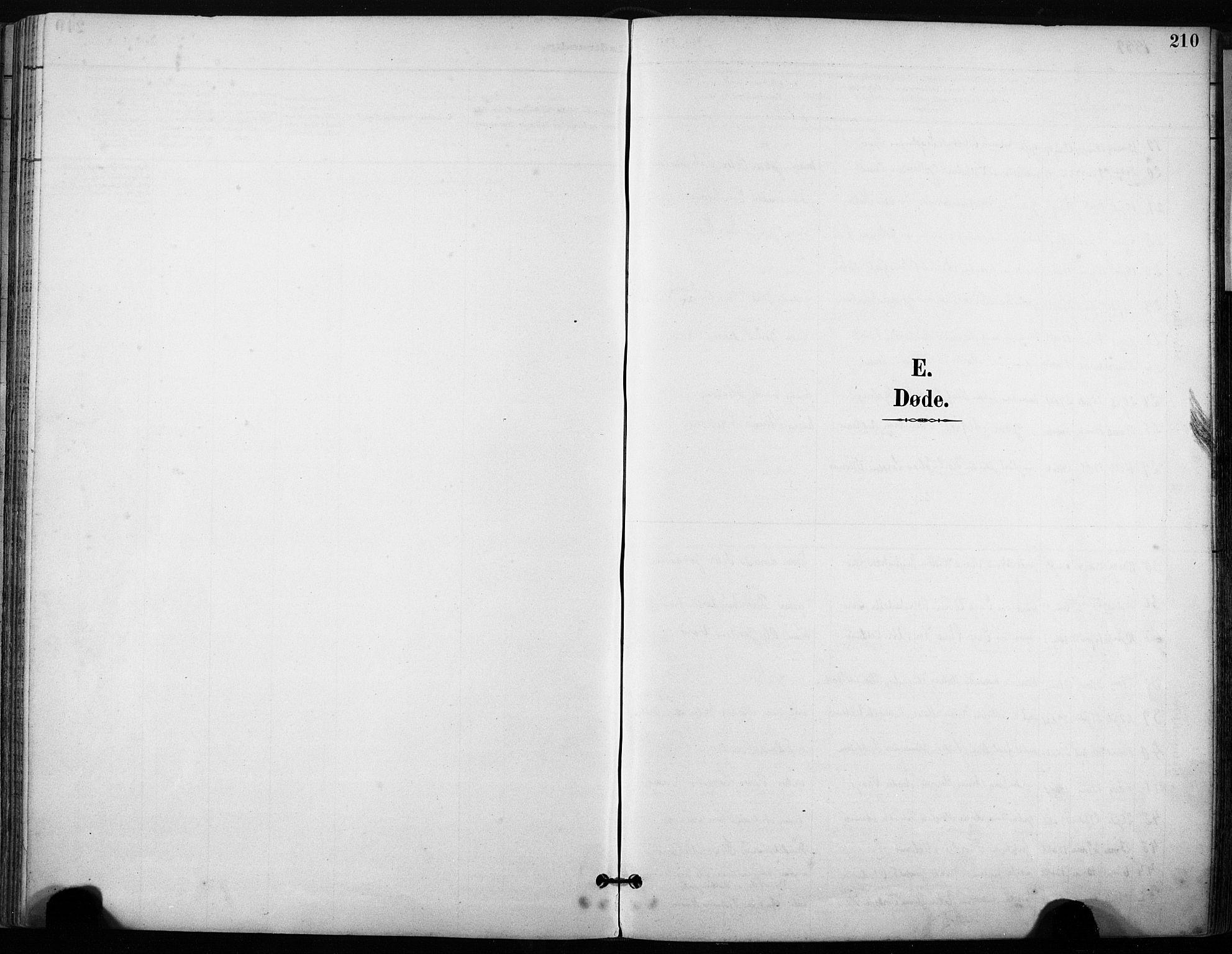 SAT, Ministerialprotokoller, klokkerbøker og fødselsregistre - Sør-Trøndelag, 640/L0579: Ministerialbok nr. 640A04, 1889-1902, s. 210