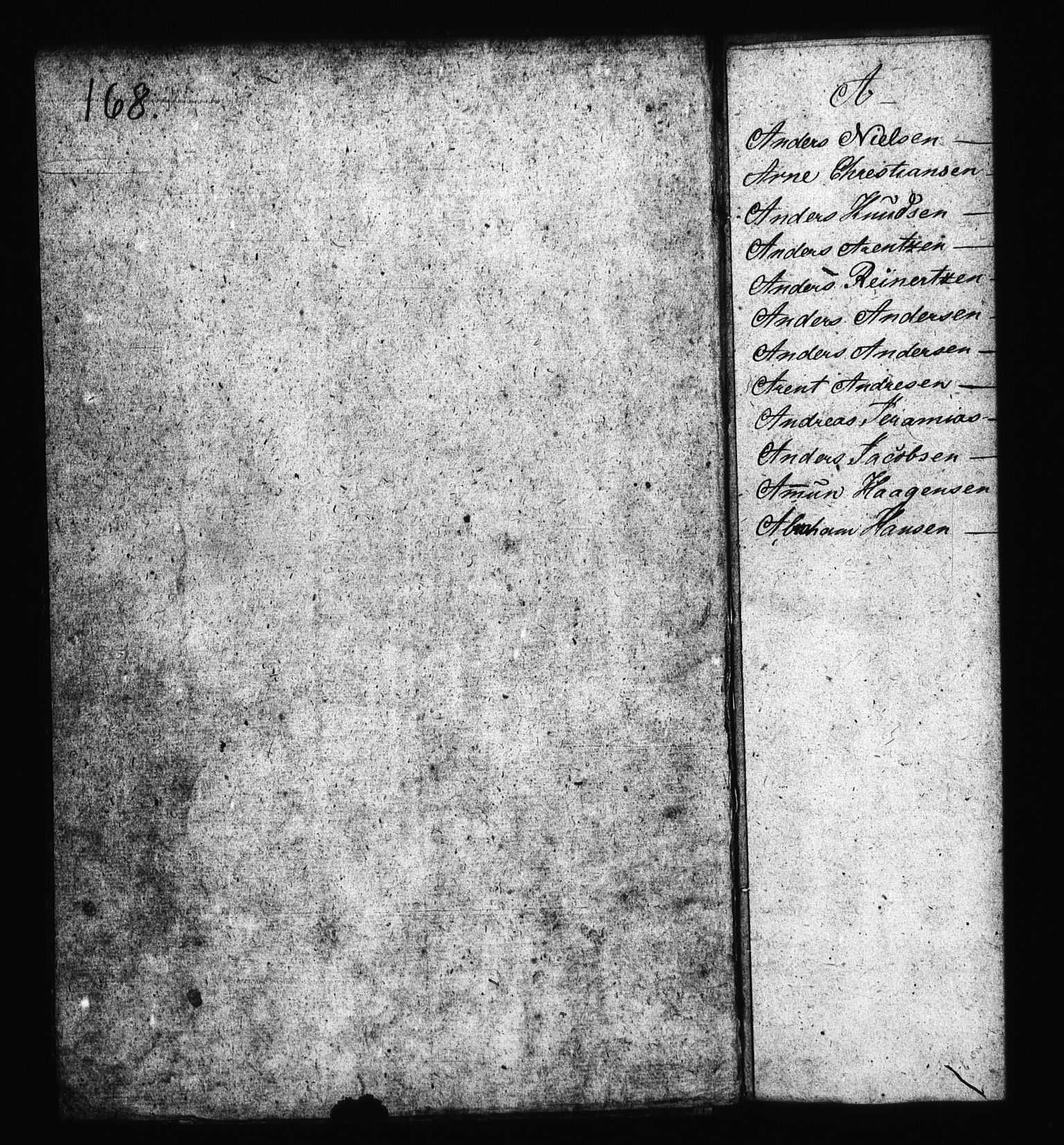 RA, Sjøetaten, F/L0169: Bragernes distrikt, bind 2, 1813