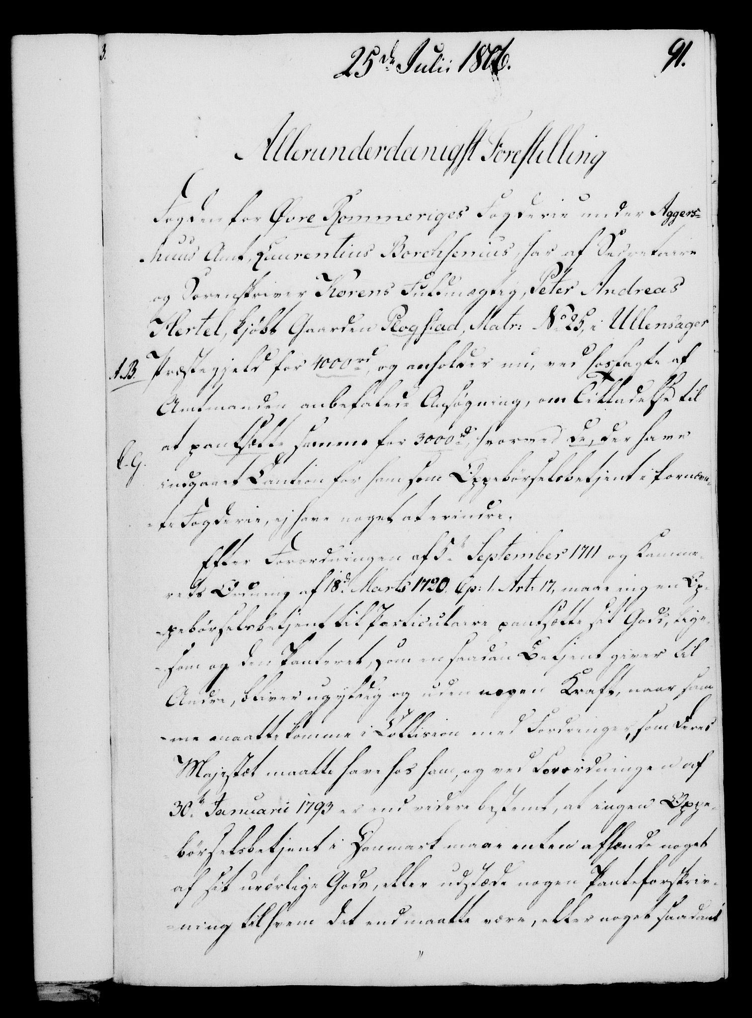 RA, Rentekammeret, Kammerkanselliet, G/Gf/Gfa/L0088: Norsk relasjons- og resolusjonsprotokoll (merket RK 52.88), 1806, s. 562