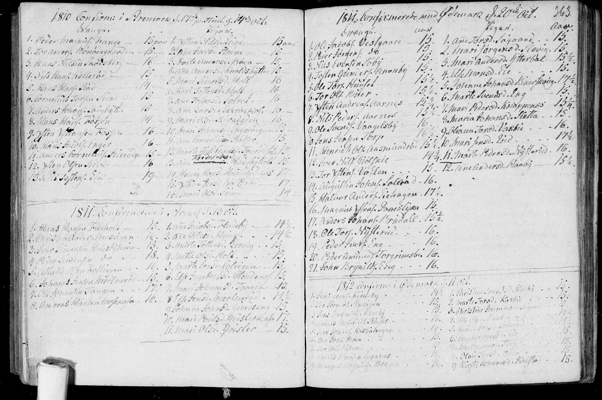 SAO, Aremark prestekontor Kirkebøker, F/Fa/L0004: Ministerialbok nr. I 4, 1796-1814, s. 363