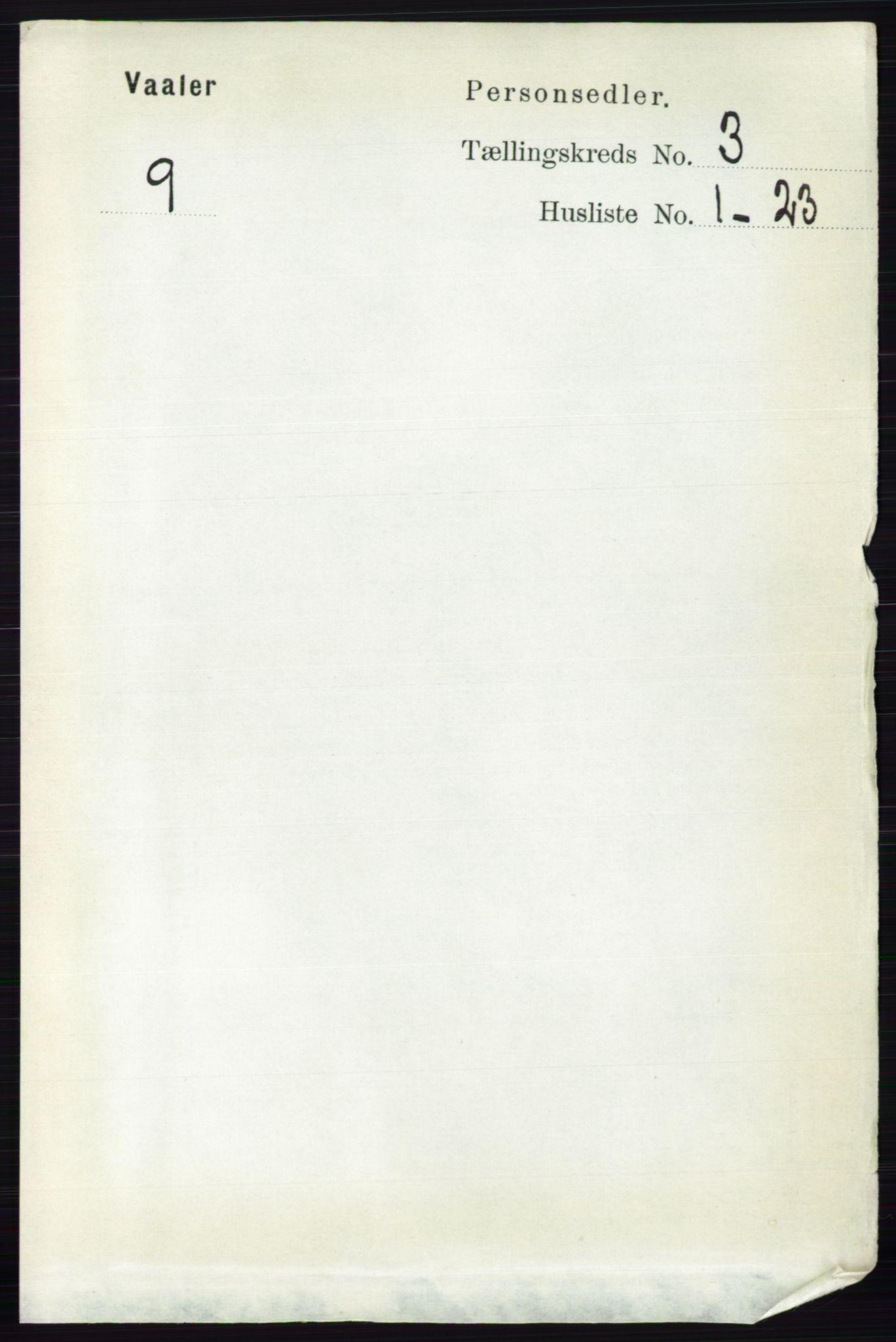 RA, Folketelling 1891 for 0137 Våler herred, 1891, s. 1110