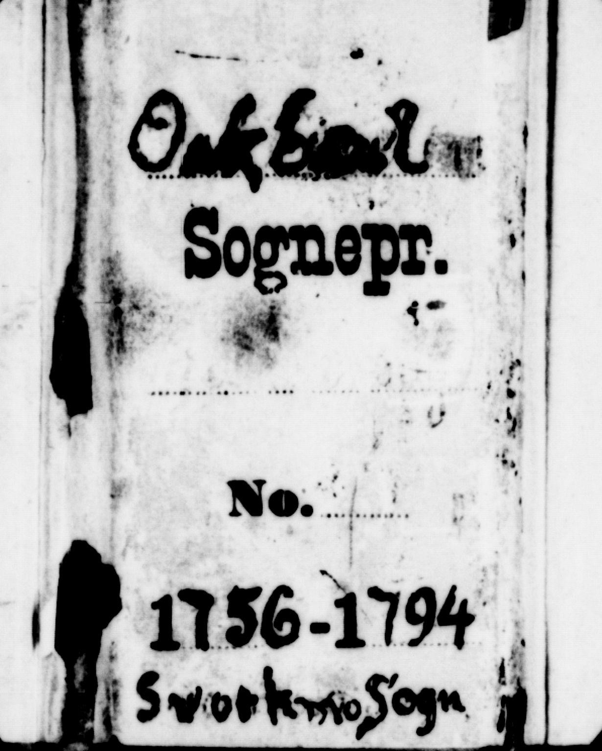 SAT, Ministerialprotokoller, klokkerbøker og fødselsregistre - Sør-Trøndelag, 671/L0840: Ministerialbok nr. 671A02, 1756-1794