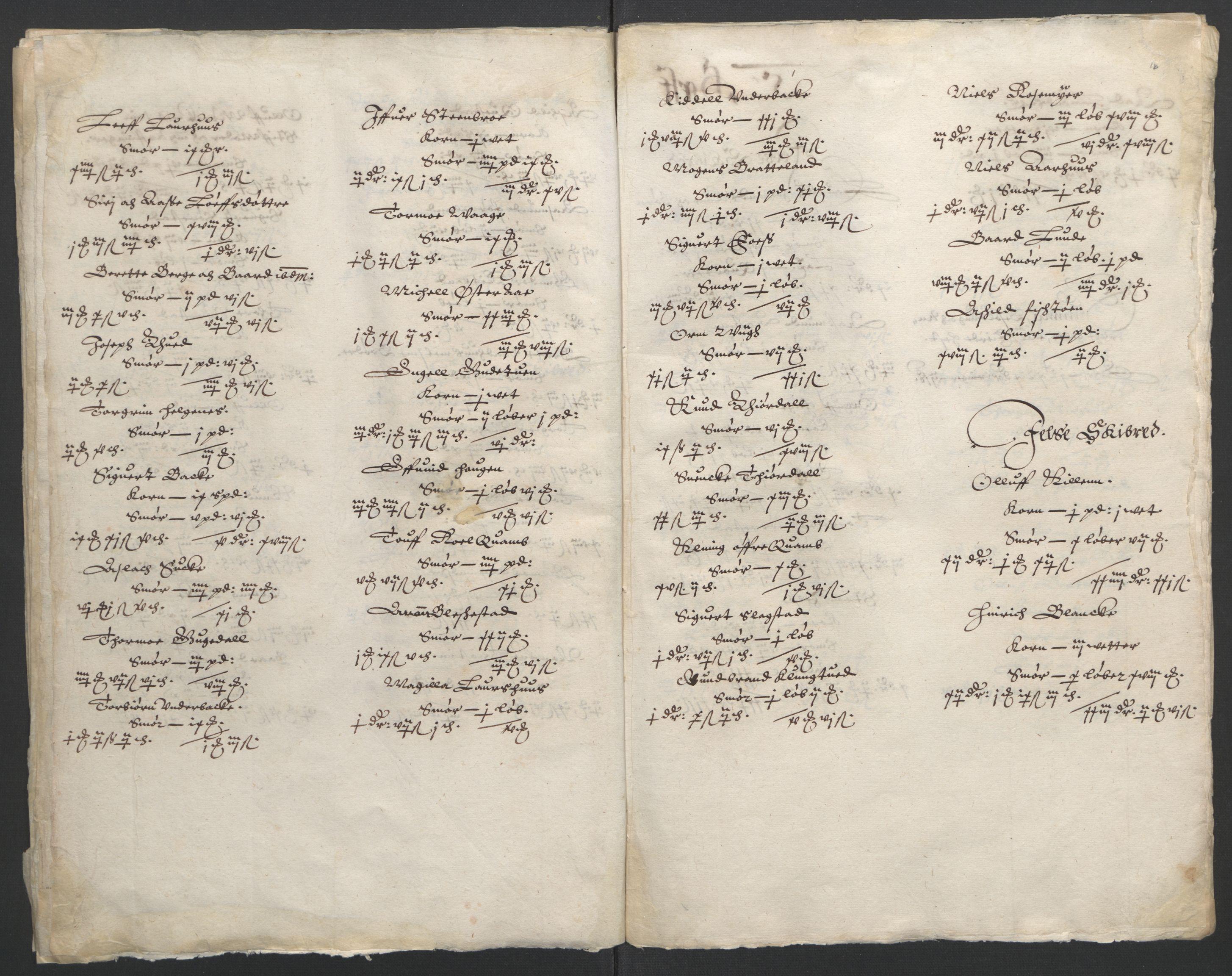 RA, Stattholderembetet 1572-1771, Ek/L0010: Jordebøker til utlikning av rosstjeneste 1624-1626:, 1624-1626, s. 81