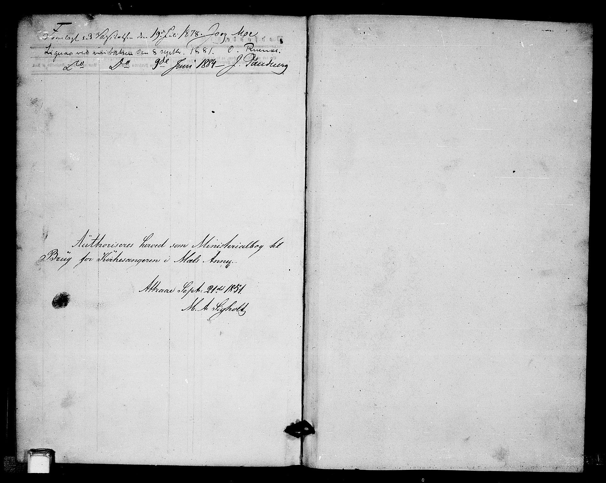 SAKO, Tinn kirkebøker, G/Gb/L0002: Klokkerbok nr. II 2, 1851-1886