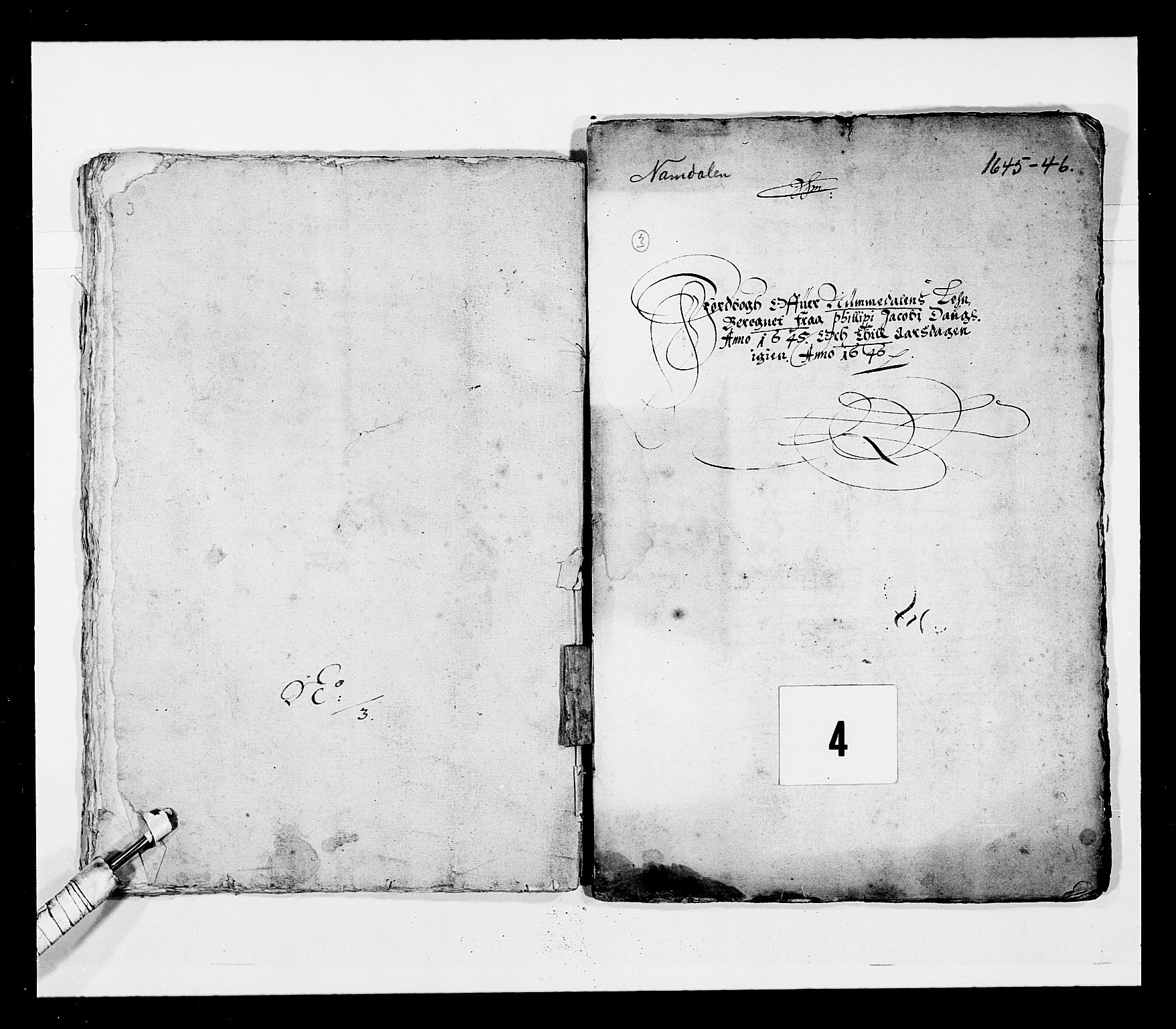 RA, Stattholderembetet 1572-1771, Ek/L0028: Jordebøker 1633-1658:, 1645-1646, s. 81