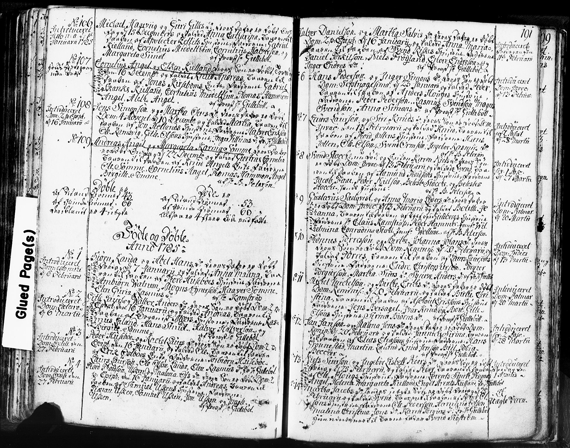 SAST, Domkirken sokneprestkontor, 30/30BB/L0004: Klokkerbok nr. B 4, 1752-1790, s. 191