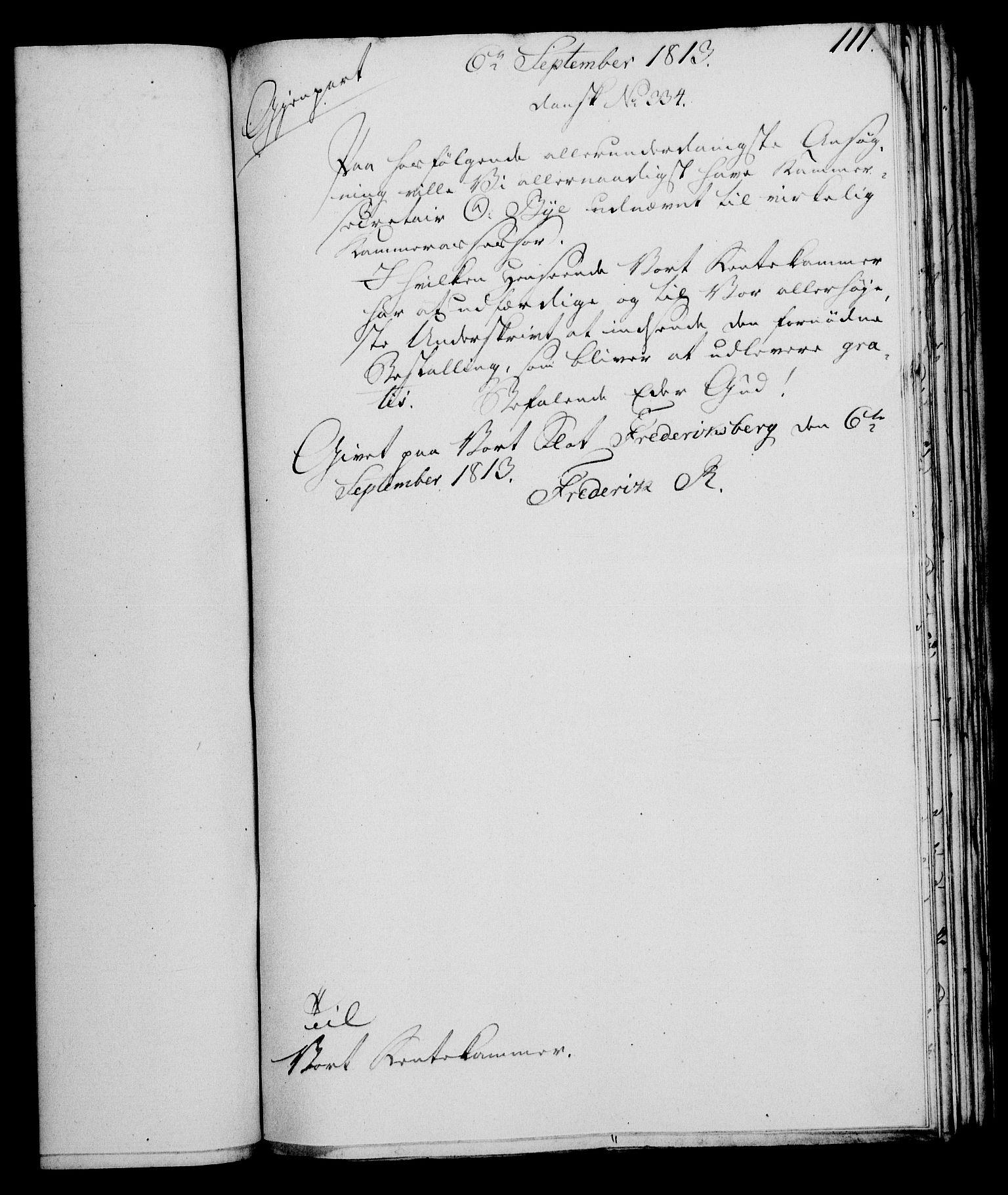 RA, Rentekammeret, Kammerkanselliet, G/Gf/Gfa/L0095: Norsk relasjons- og resolusjonsprotokoll (merket RK 52.95), 1813-1814, s. 469
